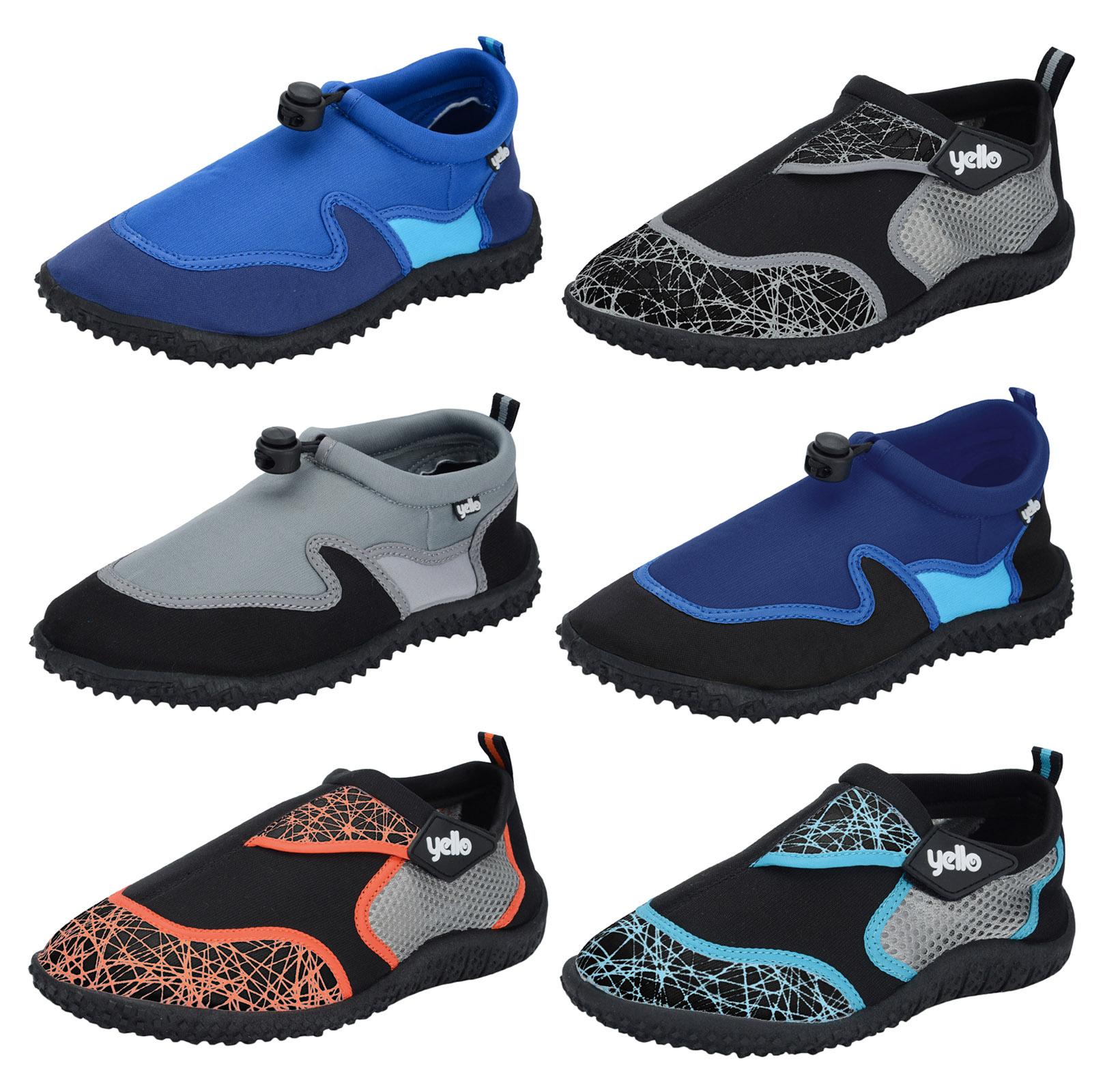 fc6db3617a928e Mens Boys Aqua Socks Beach Water Shoes Scuba Swim Surf Wetsuit Non Slip  Sandals