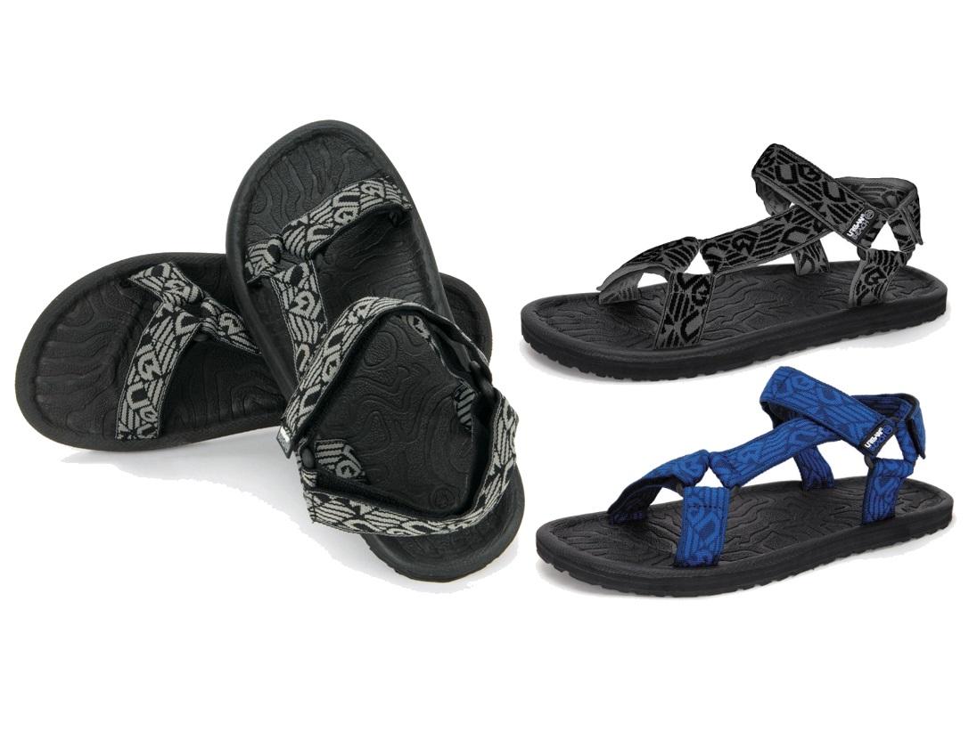 863d01af1389 Mens Boys Urban Beach Sports Sandals Flip Flops Adjustable Straps Holiday  Size