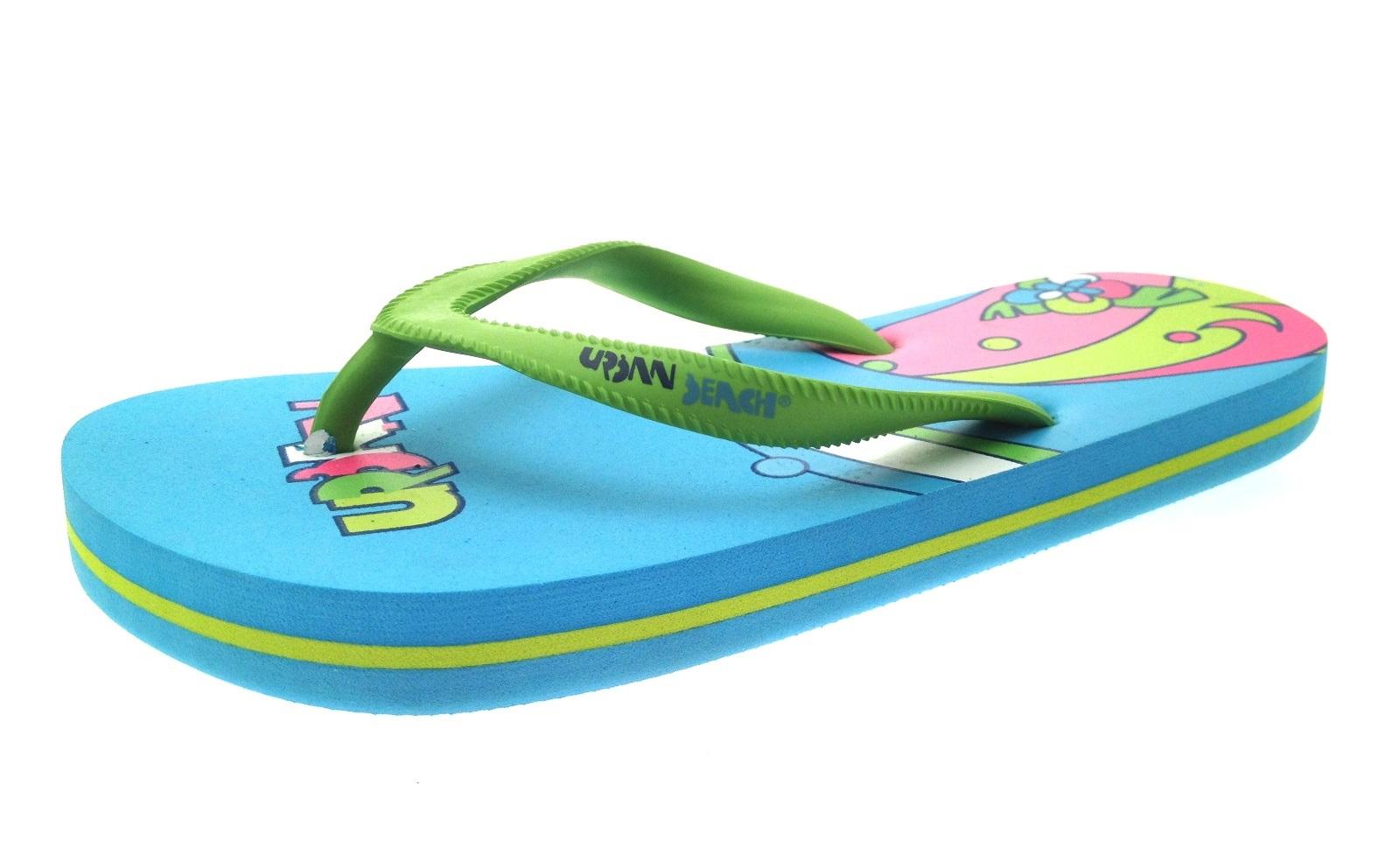 Womens Girls Urban Beach Sandals Flip Flops Toe Posts Kids