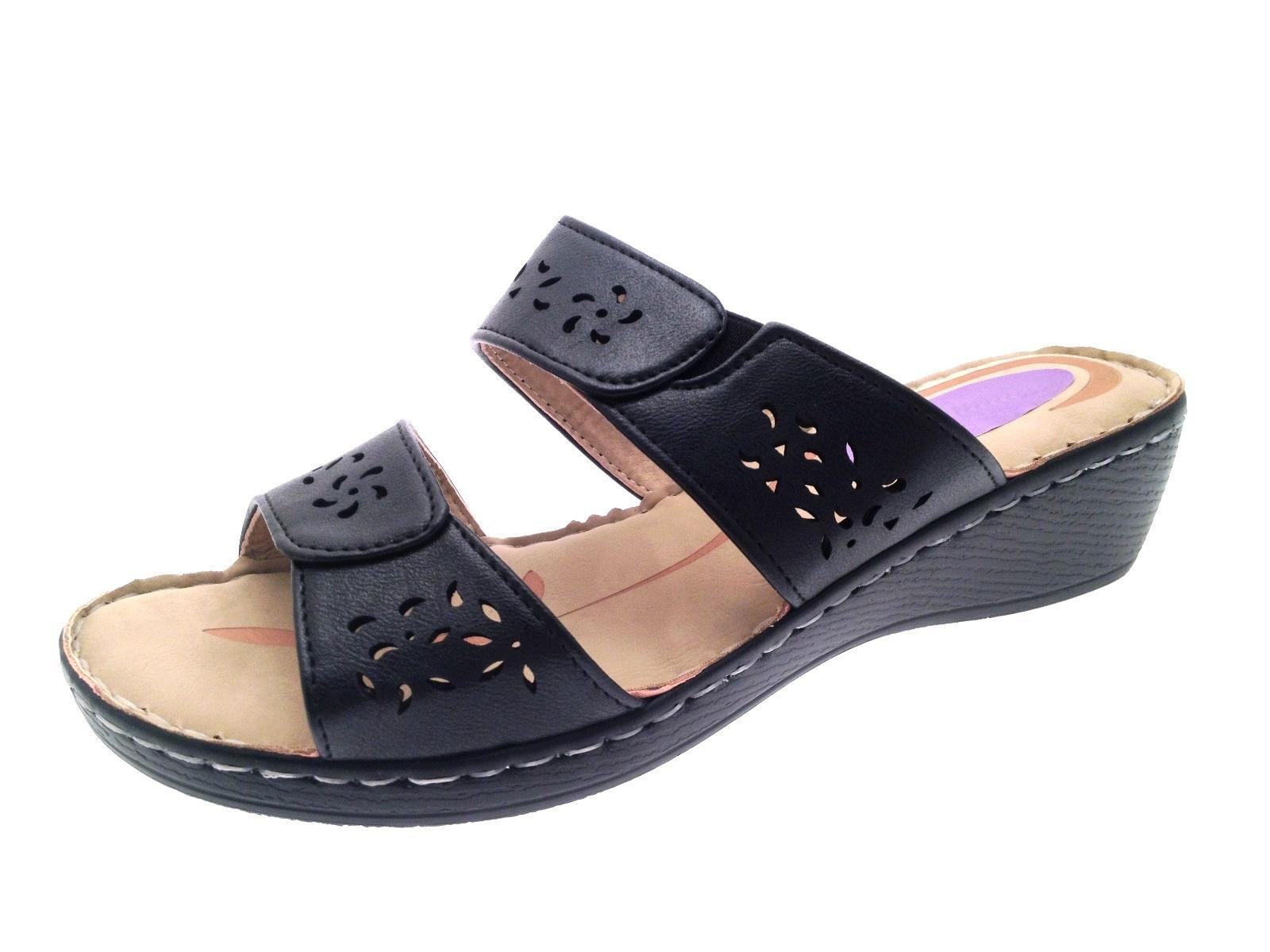 platform wedges comfort grpia loafers comforter wedge black heels grds