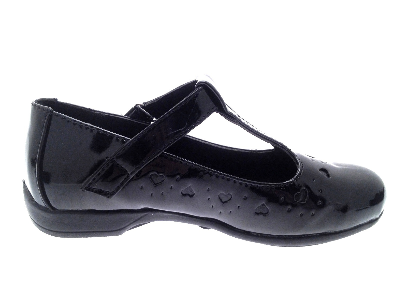 Black T Bar Shoes Size