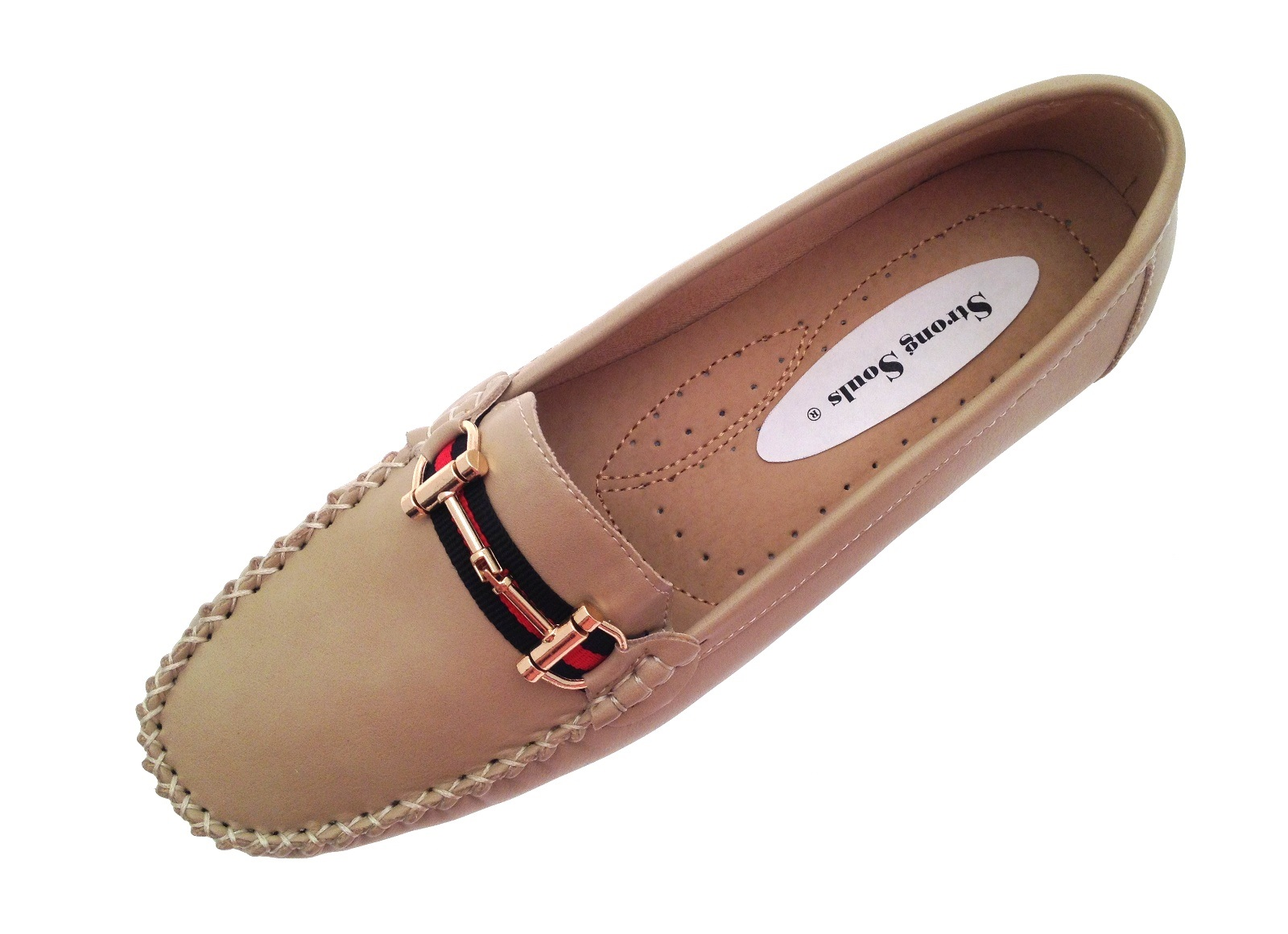Womens Faux Leather Driving Comfort Shoes Moccasins ...