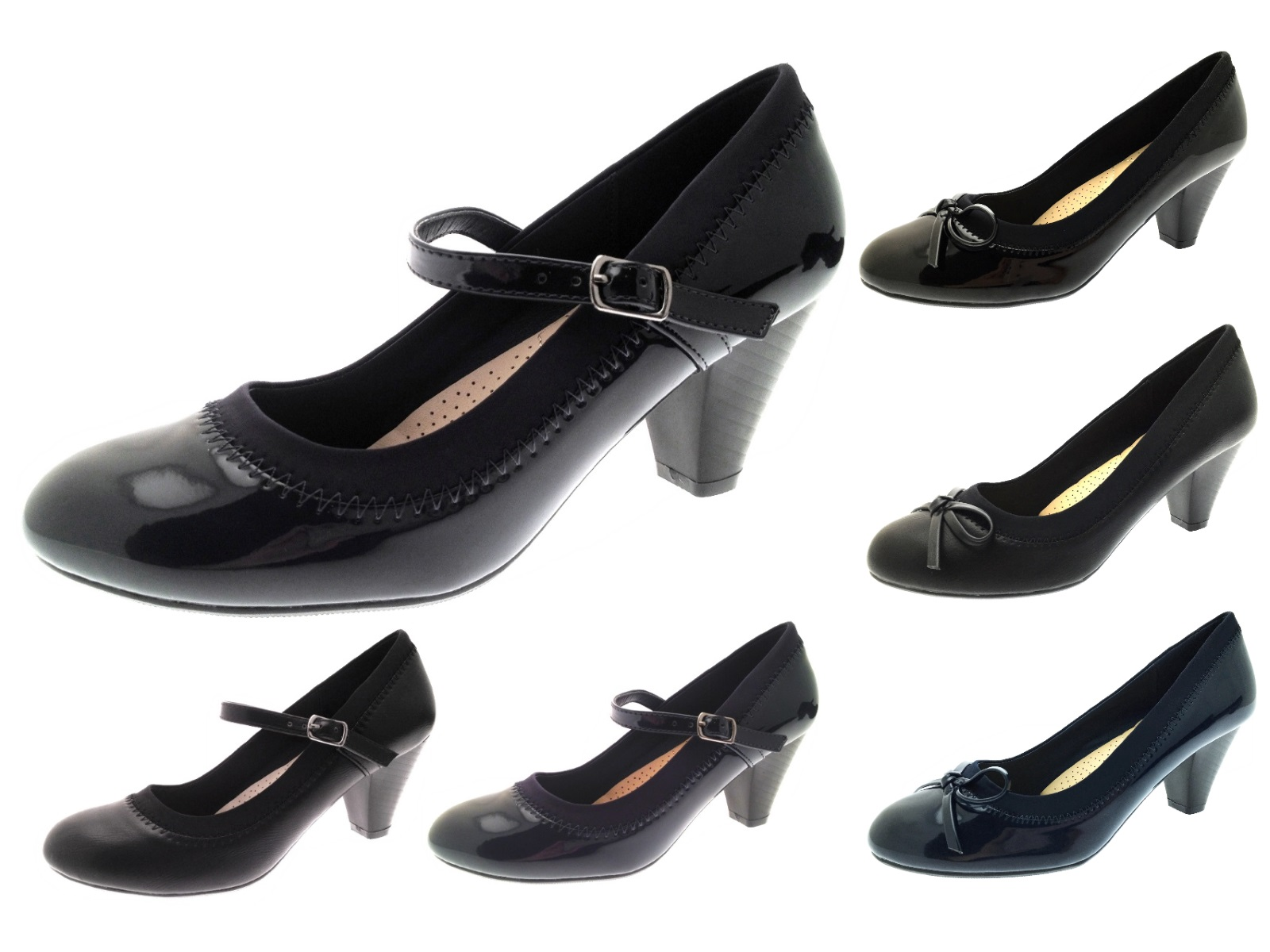 Womens Mary Jane Comfort Shoes Low