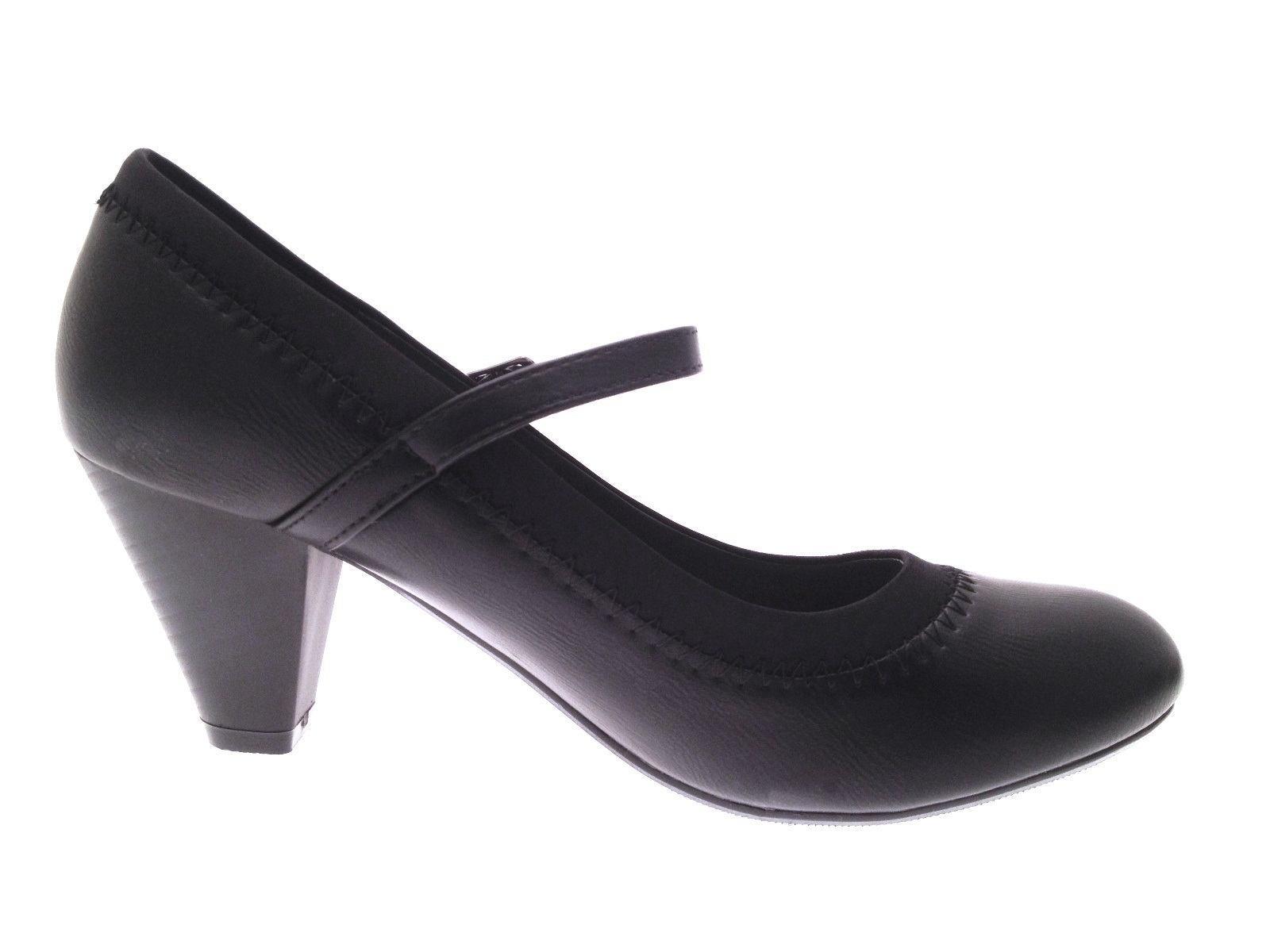 Womens Mary Jane Comfort Shoes Low Heel Casual