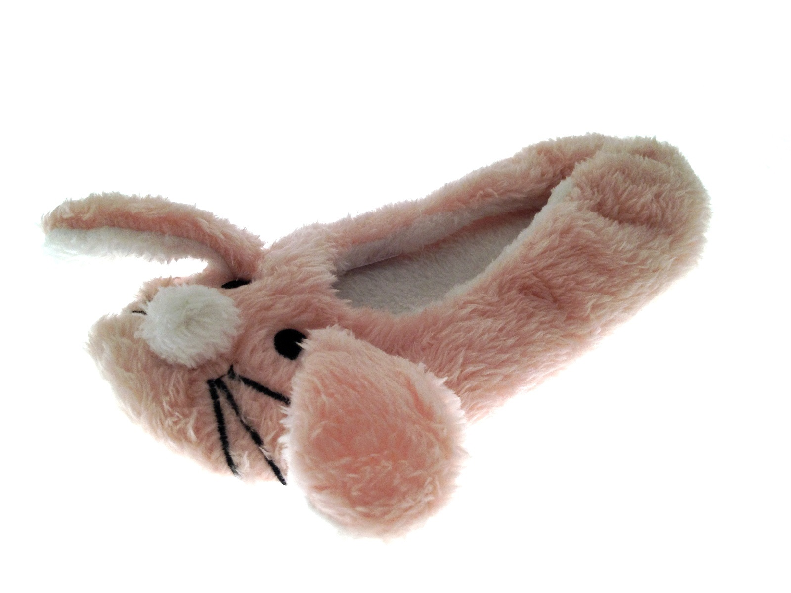 Childrens Novelty Plush 3D Slippers Booties Mules Girls Character Xmas Gift