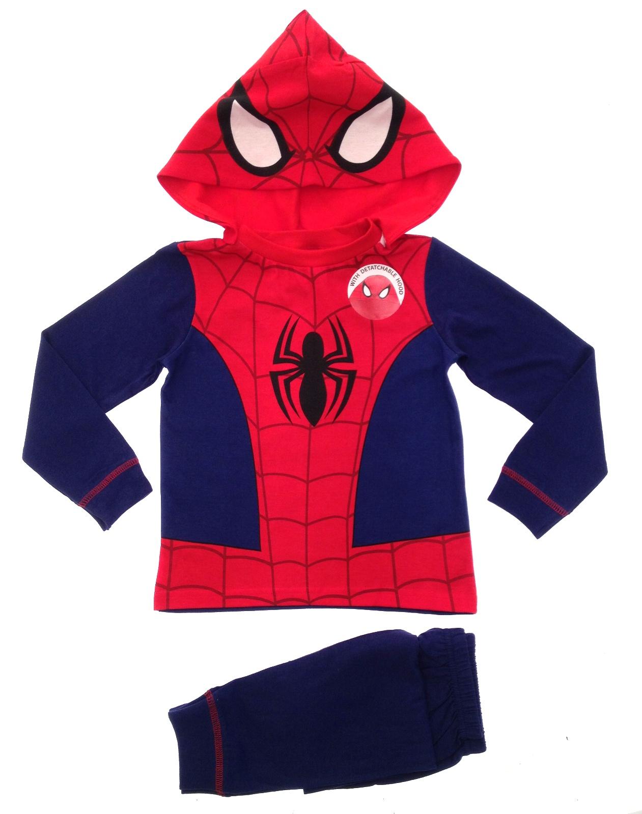 eba53b1c5 Kids Boys Spiderman Fancy Dress Up Play Costumes / Pyjamas Pjs Size ...