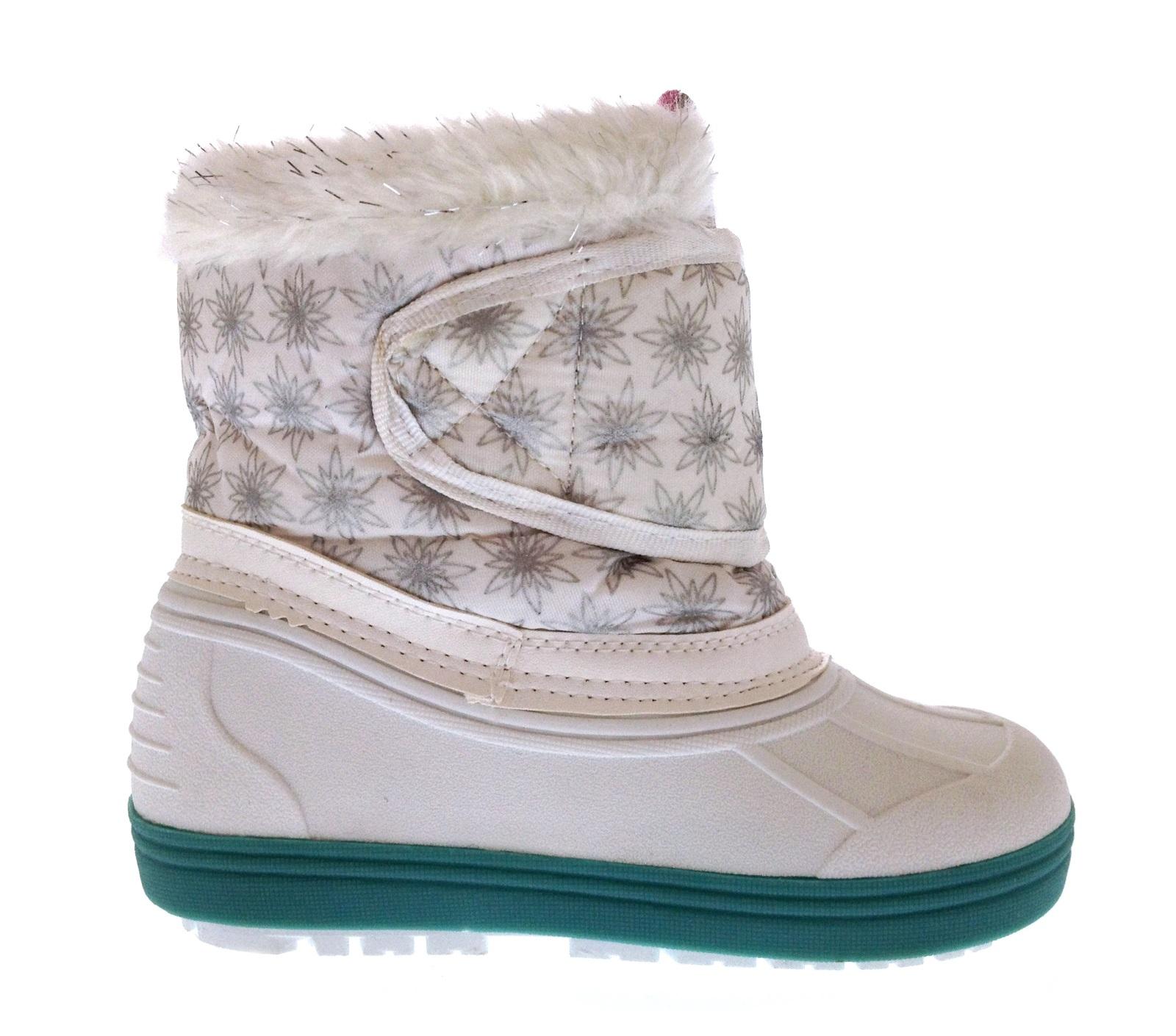 9df0904d7090 Kids Girls Disney Frozen Elsa Anna Snow Boots Waterproof Rain ...