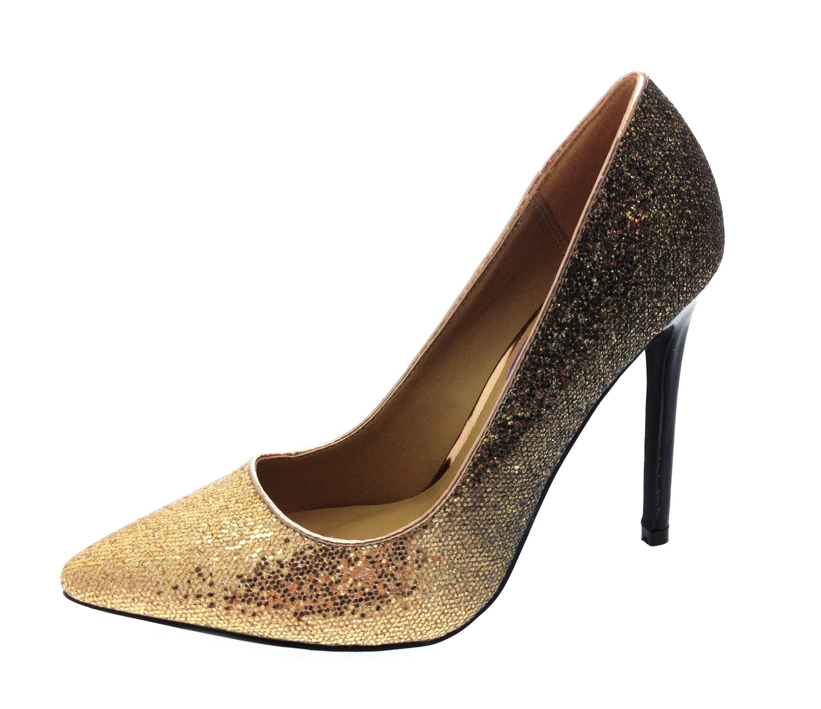 Womens Stiletto High Heels Pointed Toe Court Shoes Ladies Work Shoes ... d0c2b3aa6