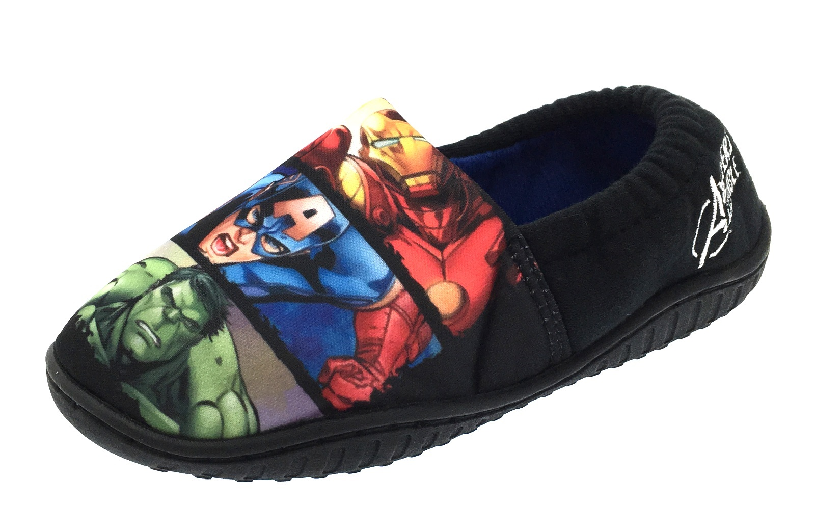Boys Marvel Avengers Thor Hulk Iron Man Slippers Kids