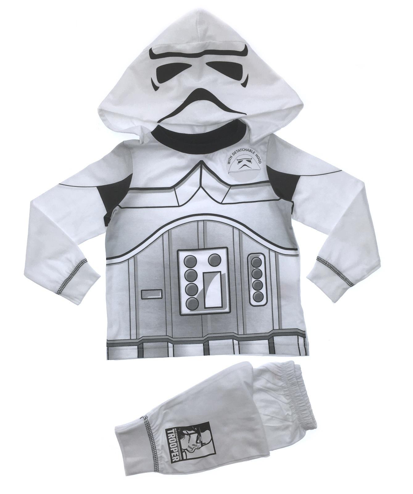 Kids Star Wars Pjs Novelty Fancy Dress Up Pyjamas 100% ...