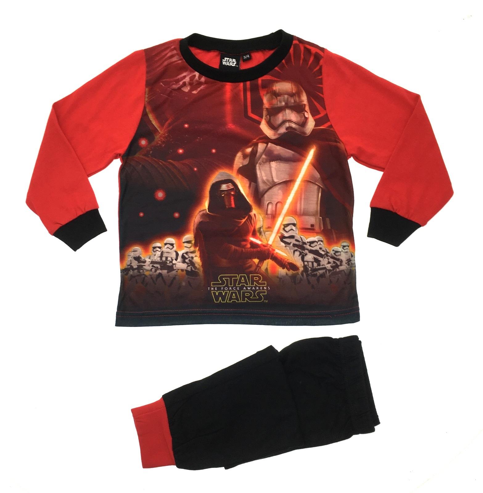 Kids Boys Official Disney Star Wars Pyjamas 2 Piece PJ's ...