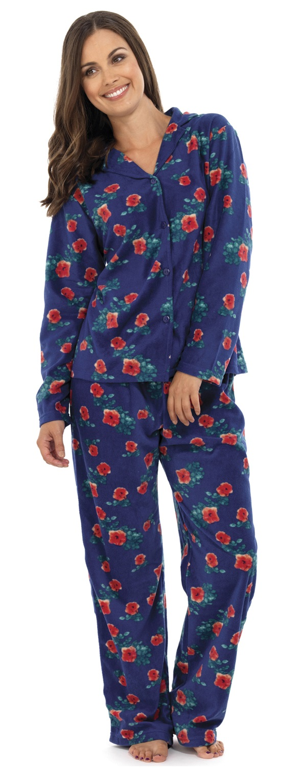 What do we recommend for those chilly days and nights? Fleece, of course. Our fleece is plush and super soft. Choose a footie, pj pant or pj set for cozy comfort.