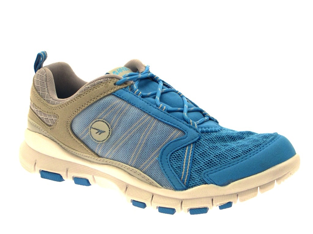 3402ef5be00 Details about HI Tec Womens Sports Trainers Lace Up Gym Running Shoes  Casual Pumps Size UK 3-8