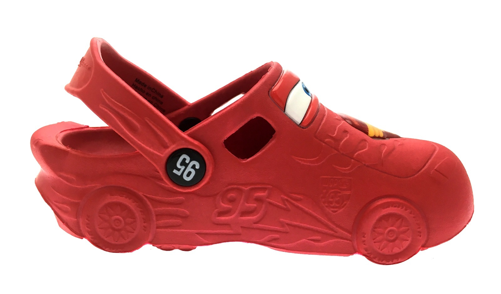 66e31f1a96bd0c Disney Cars Lightning McQueen 3D Clogs Beach Summer Sandals Boys ...