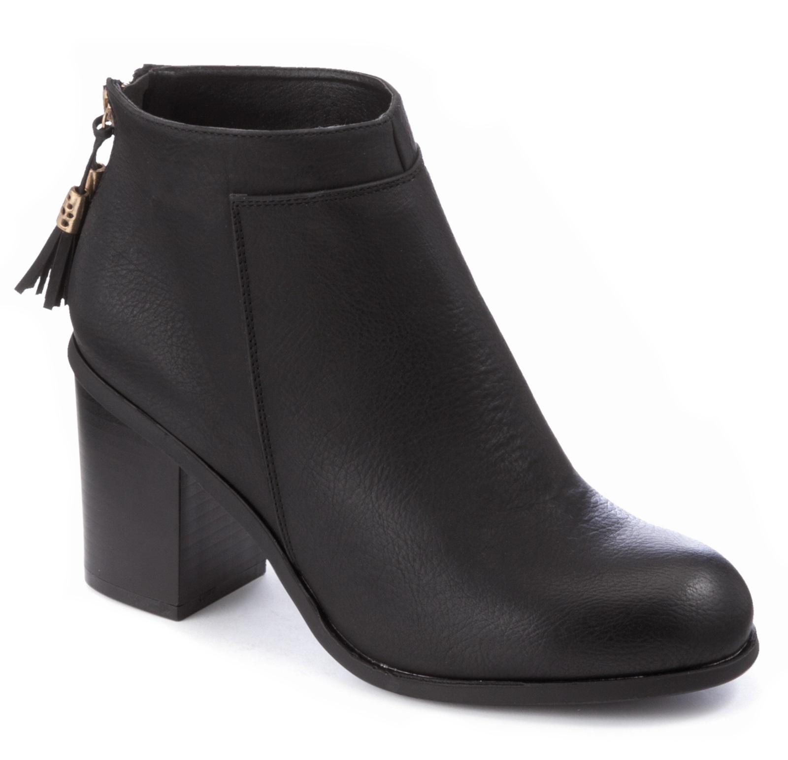Black Comfort Shoes Heels
