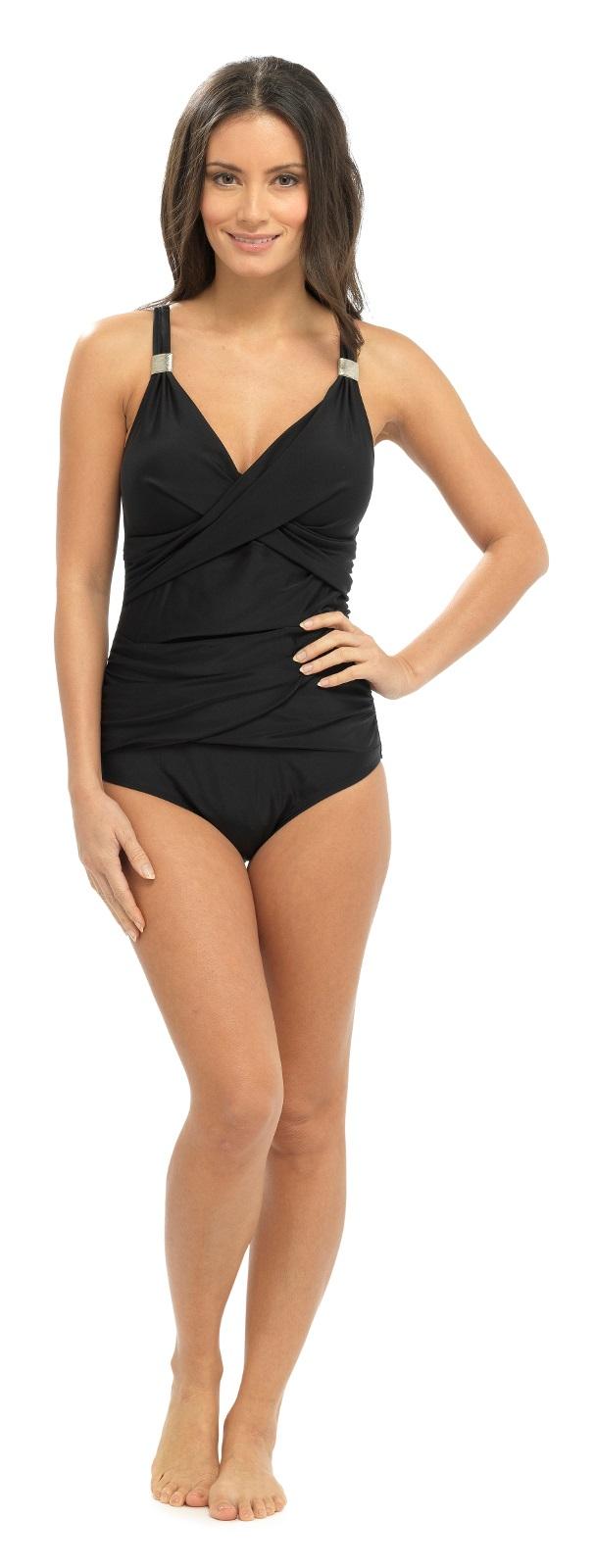 e5e18634d3 Womens Support Control Swimming Costume Ladies Swimsuit Swimwear ...