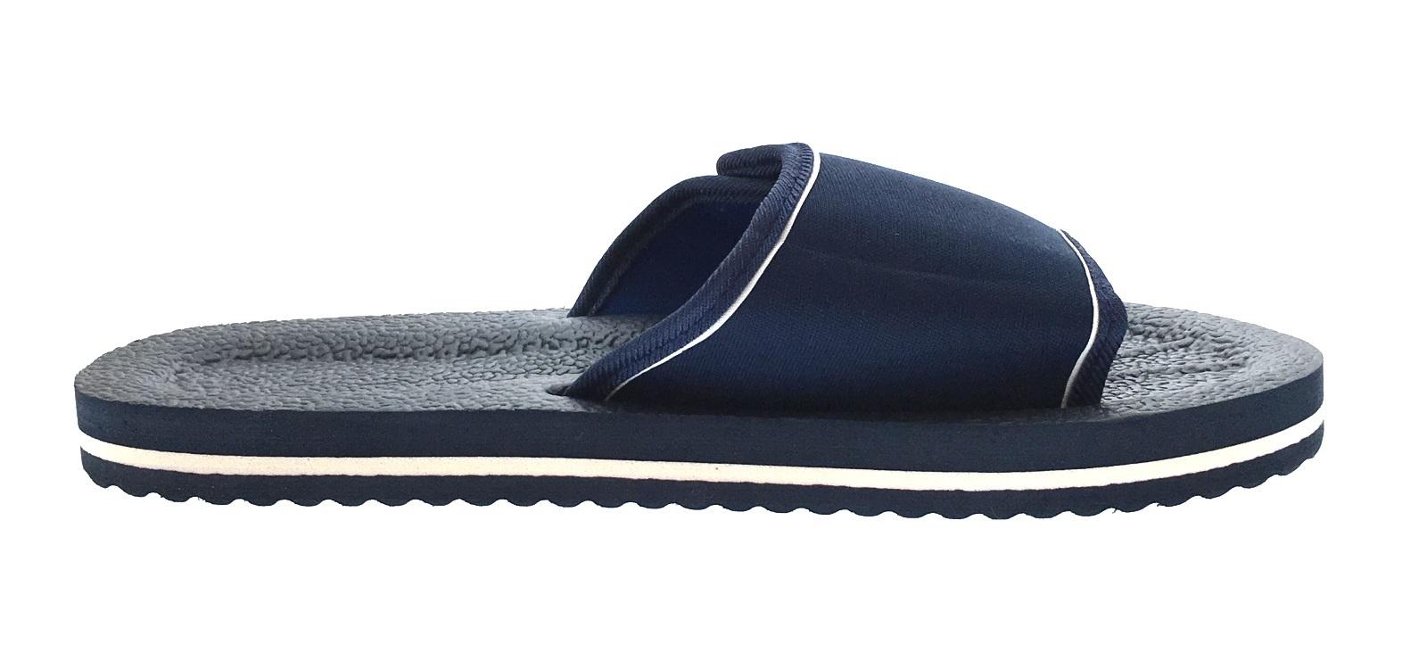 a7feab13182 Mens Lightweight Sandals Adjustable Beach Flip Flops Summer Shoes ...