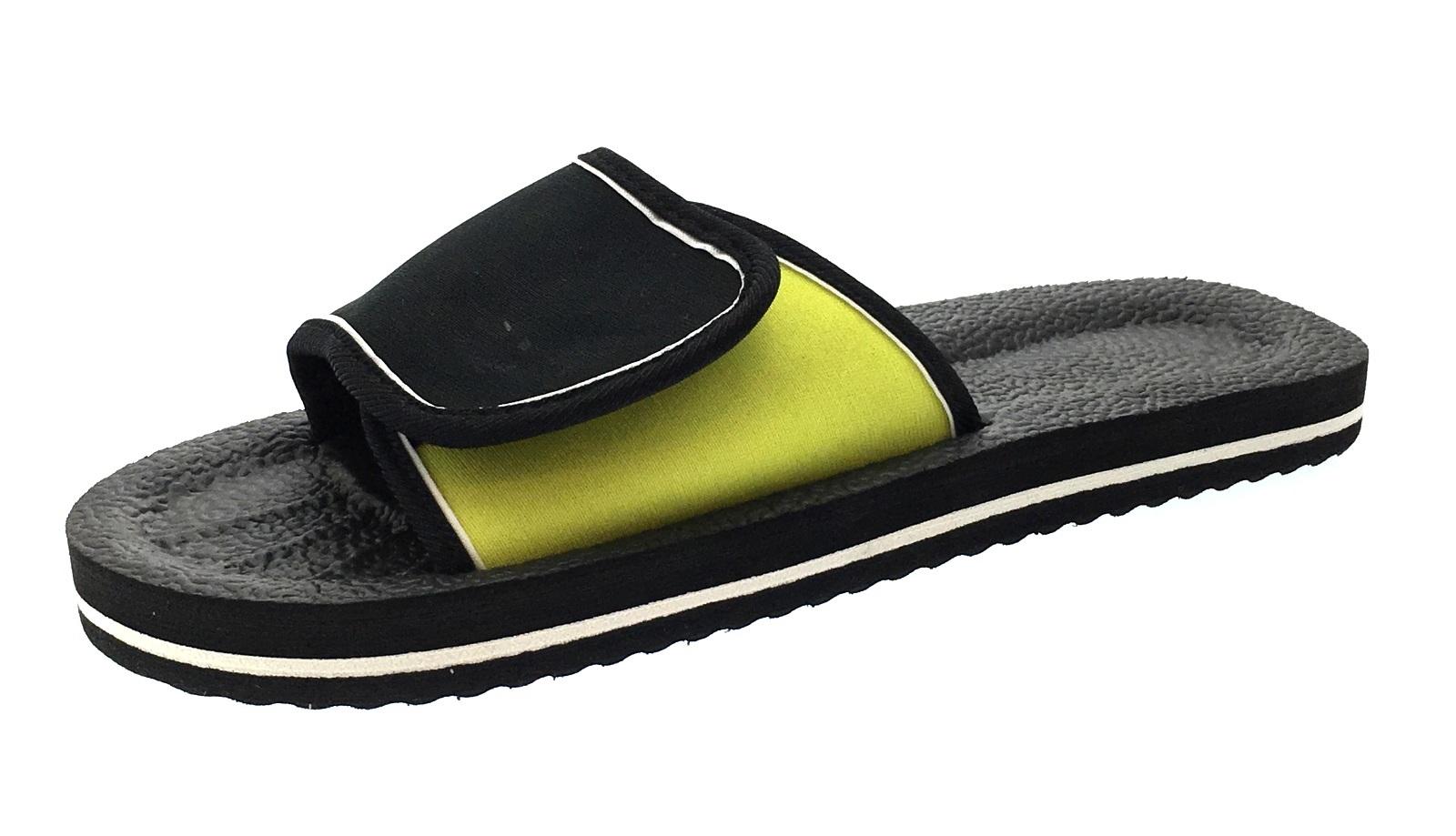 902148099b6c4 Mens Lightweight Sandals Adjustable Beach Flip Flops Summer Shoes ...