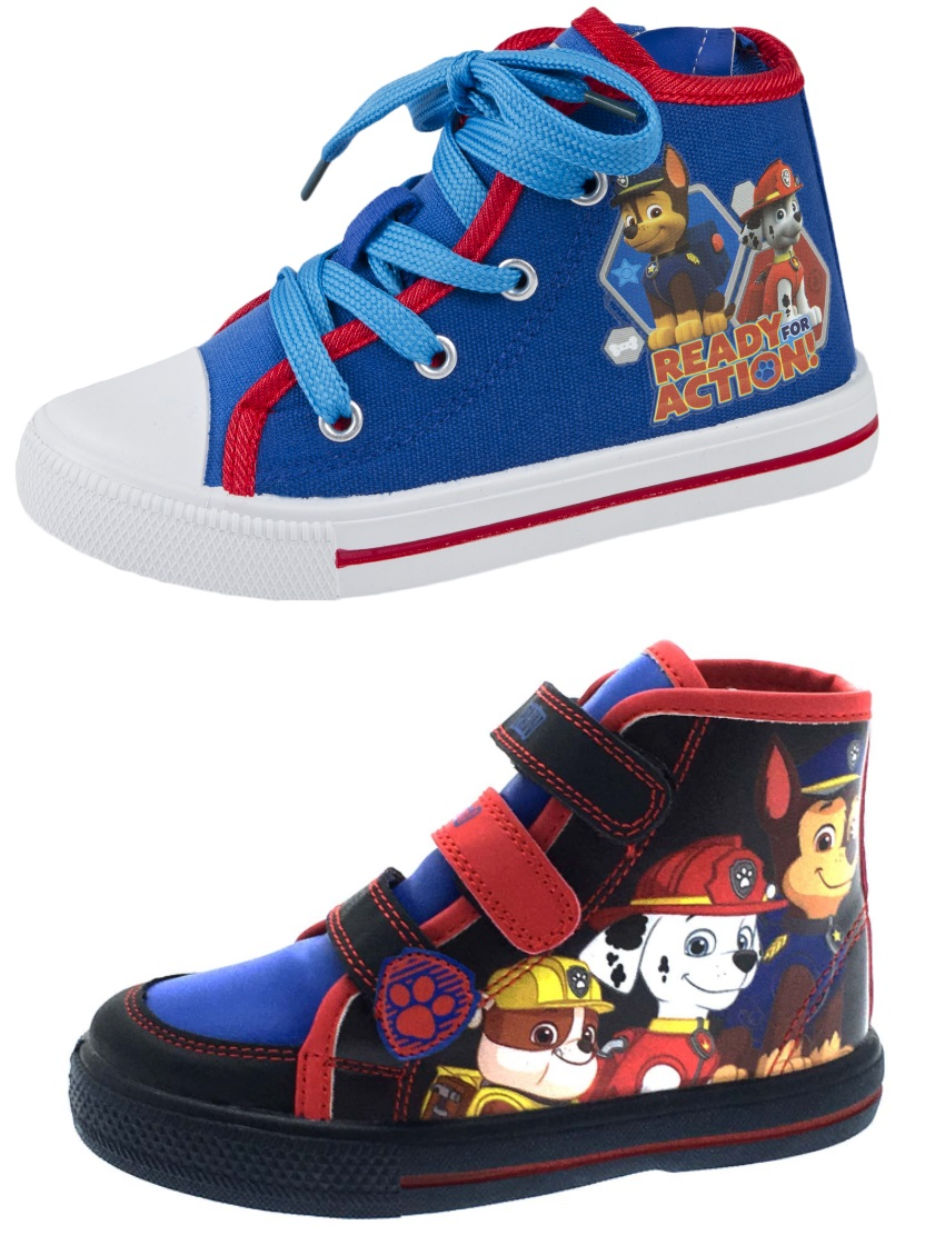 Nickelodeon Paw Patrol Infant Navy Strap fastening Plimsoles trainers size 5 new
