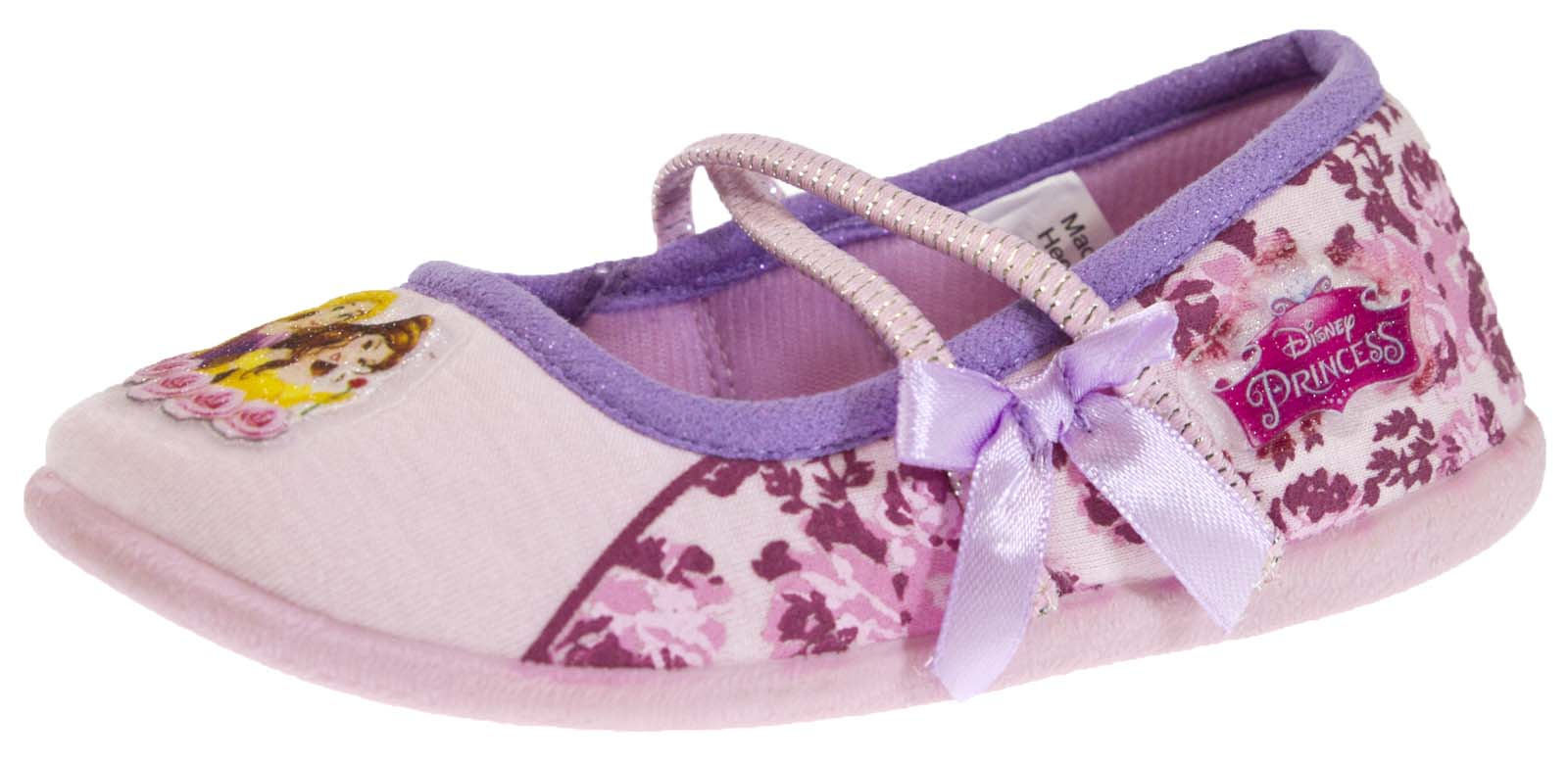 Chicas Disney Princesa Pantuflas Zapatos Botines mulas Belle personaje de Cenicienta