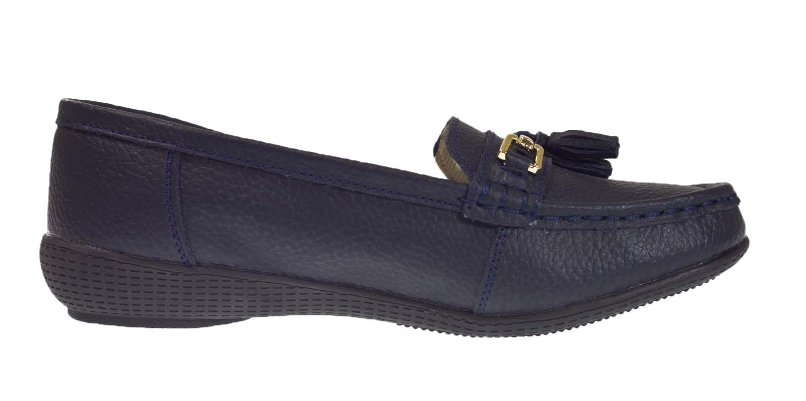 Ladies Driving Moccasin Shoes Size