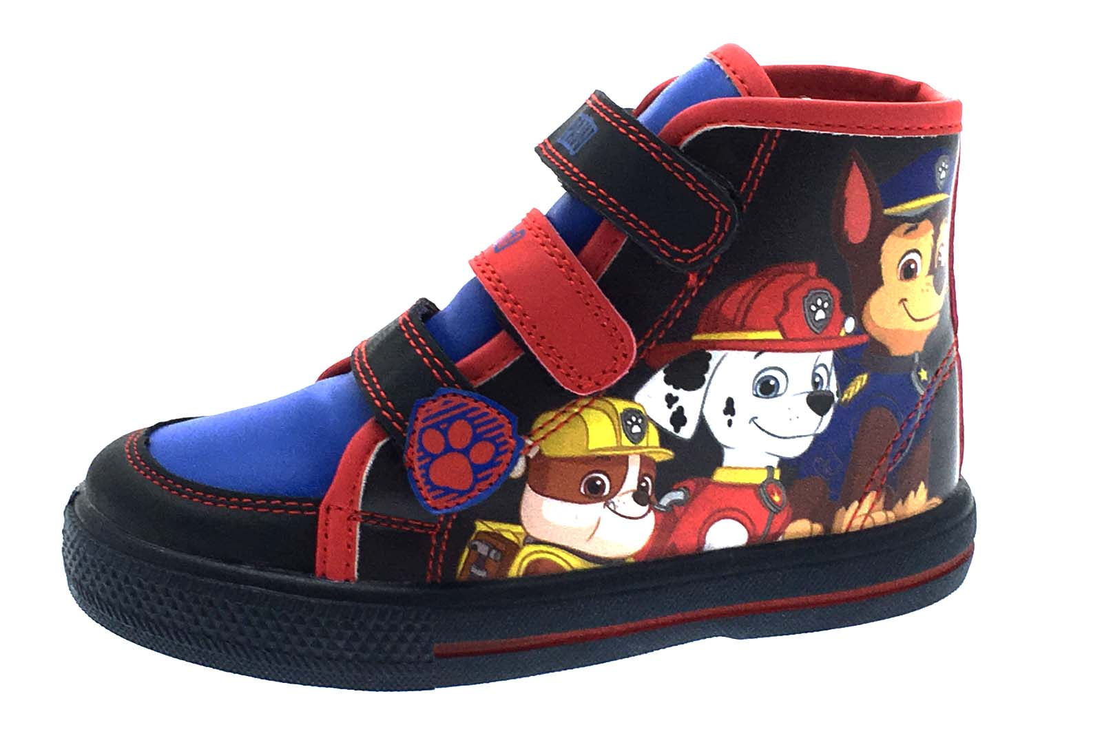 paw patrol trainers skate canvas pumps shoes boys hi tops