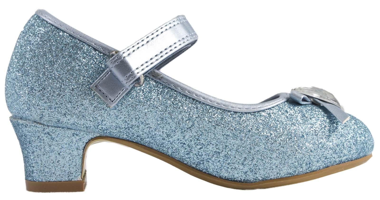Girls Low Heel Princess Shoes