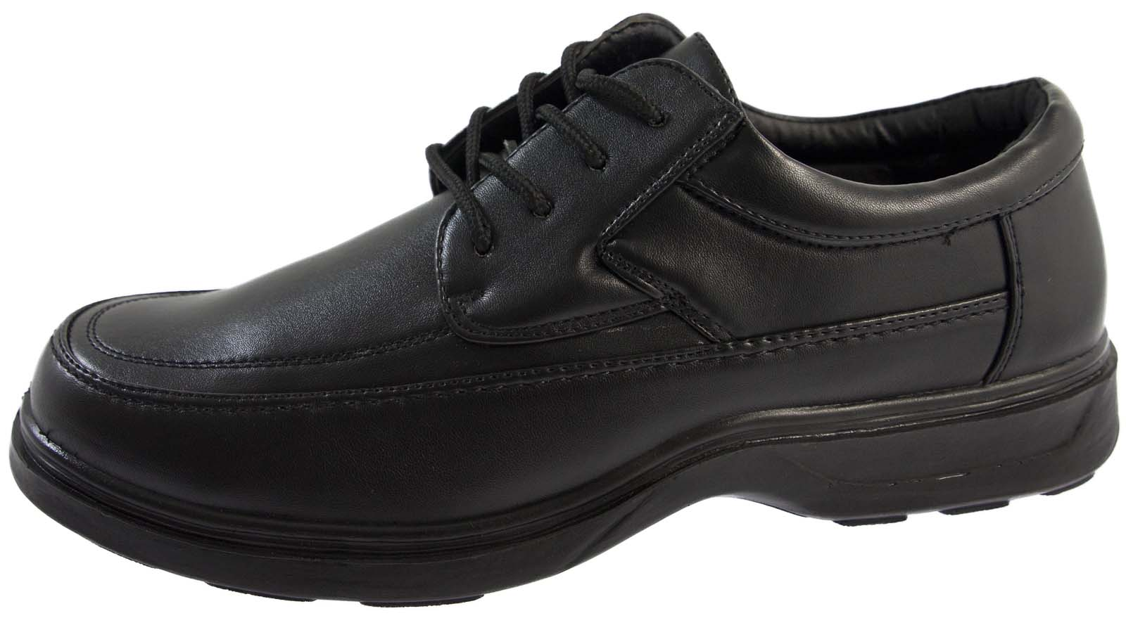 Mens Wide Ing Comfort Shoes Formal Flexible Sole