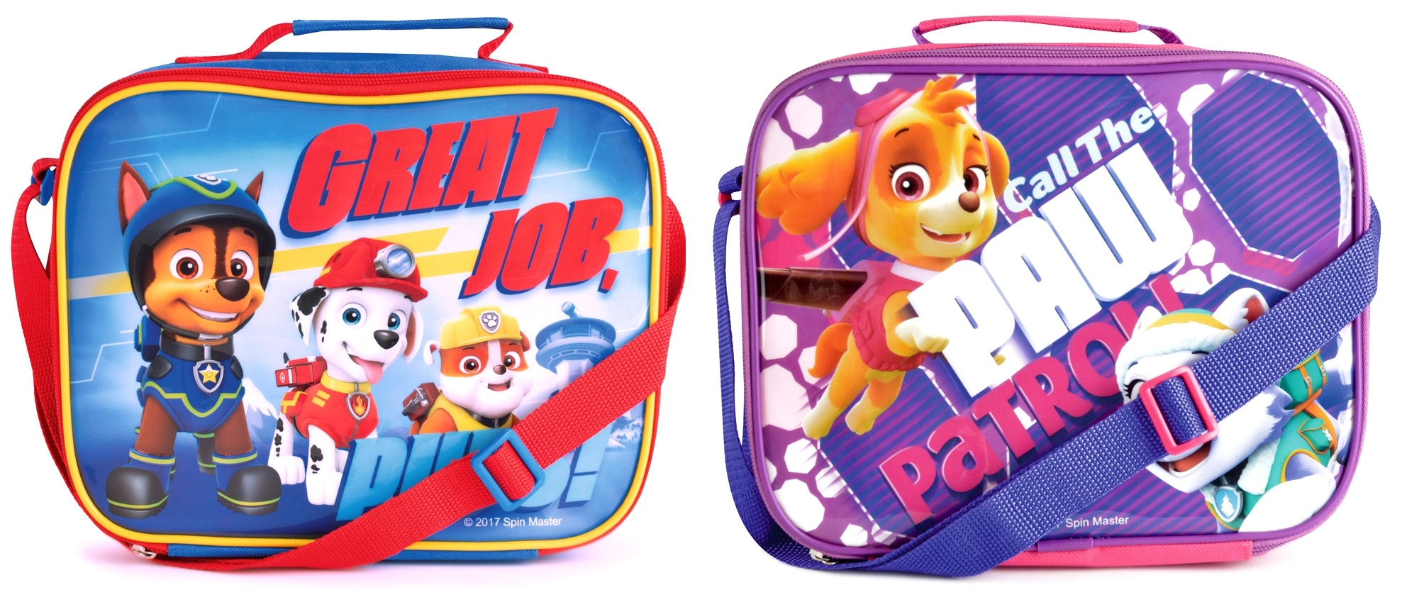 Details About Kids Paw Patrol Lunch Bag Insulated Cool Snack Box School Nursery Travel