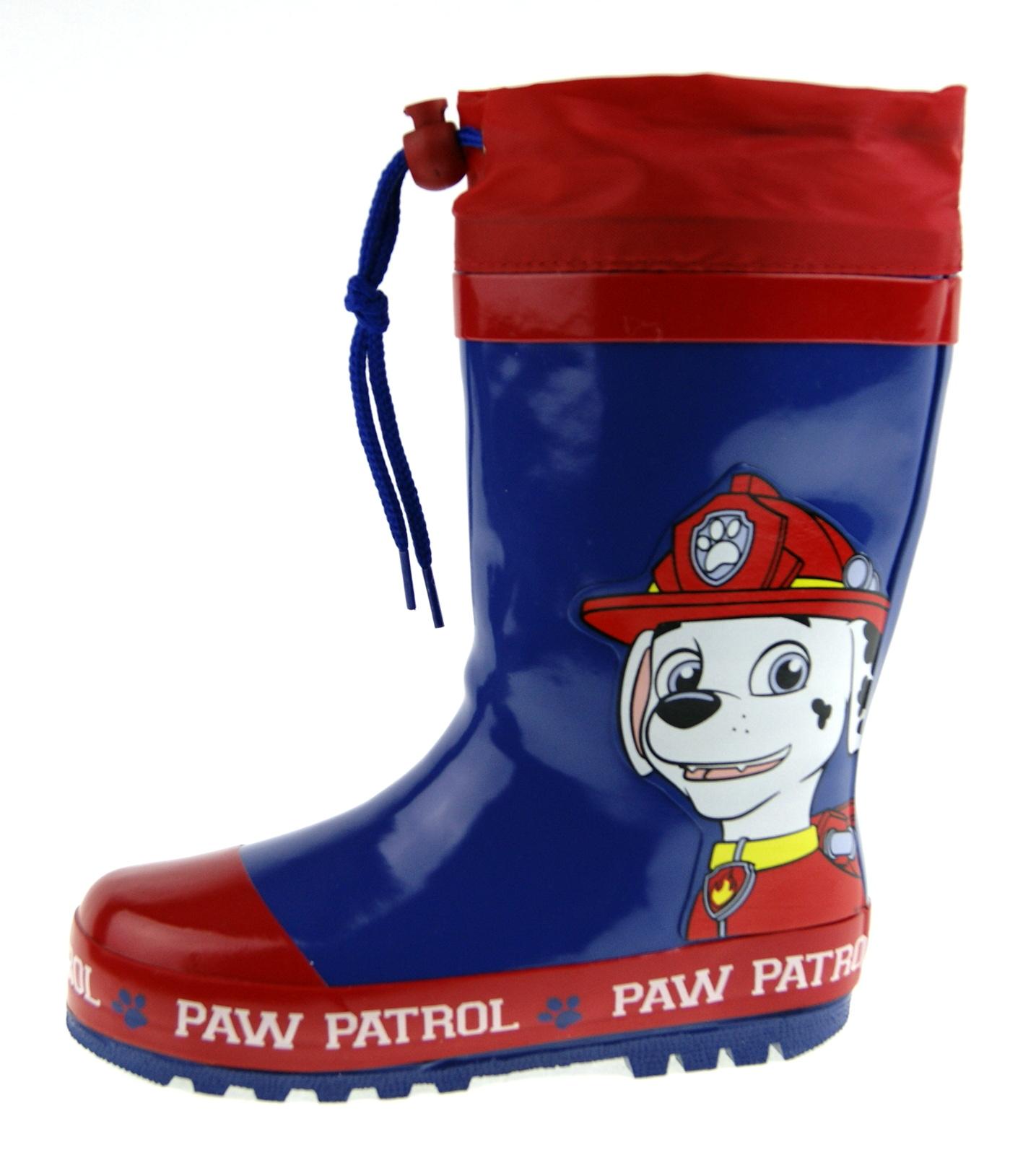 Paw Patrol Wellington Boots Tie Top
