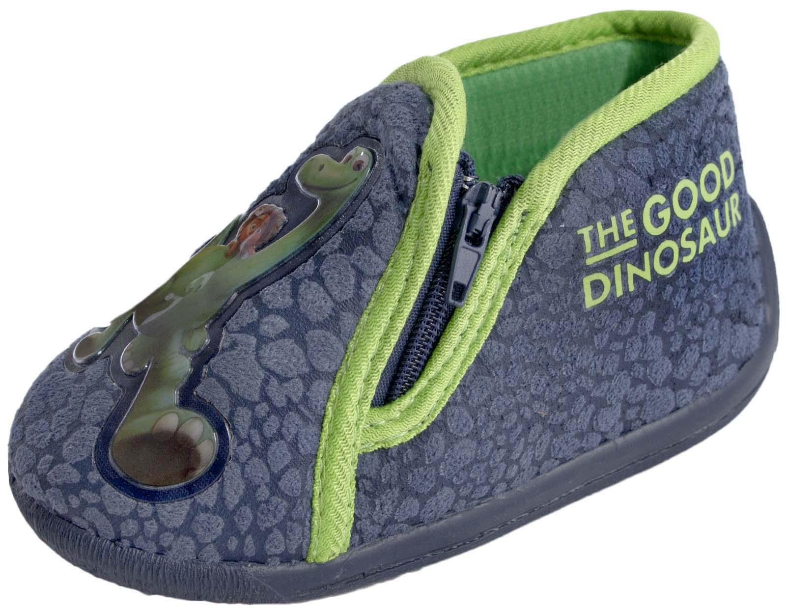 2830afce4d20 Kids Boys Disney The Good Dinosaur Slippers Childrens Shoes Infants ...
