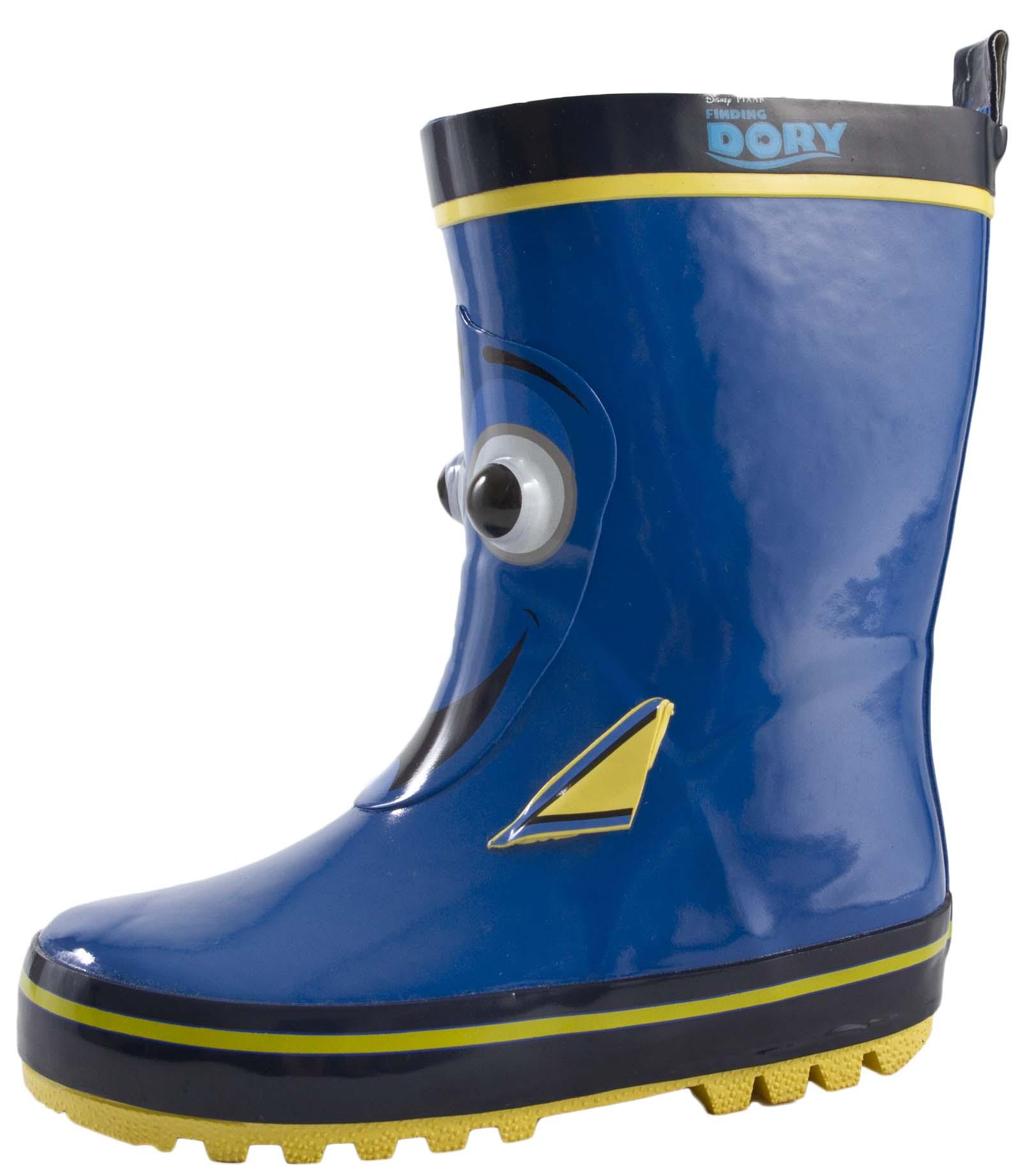 b23ff317e8bb Disney Finding Dory 3D Rubber Wellington Boots Rain Wellies Boys Girls Kids  Size