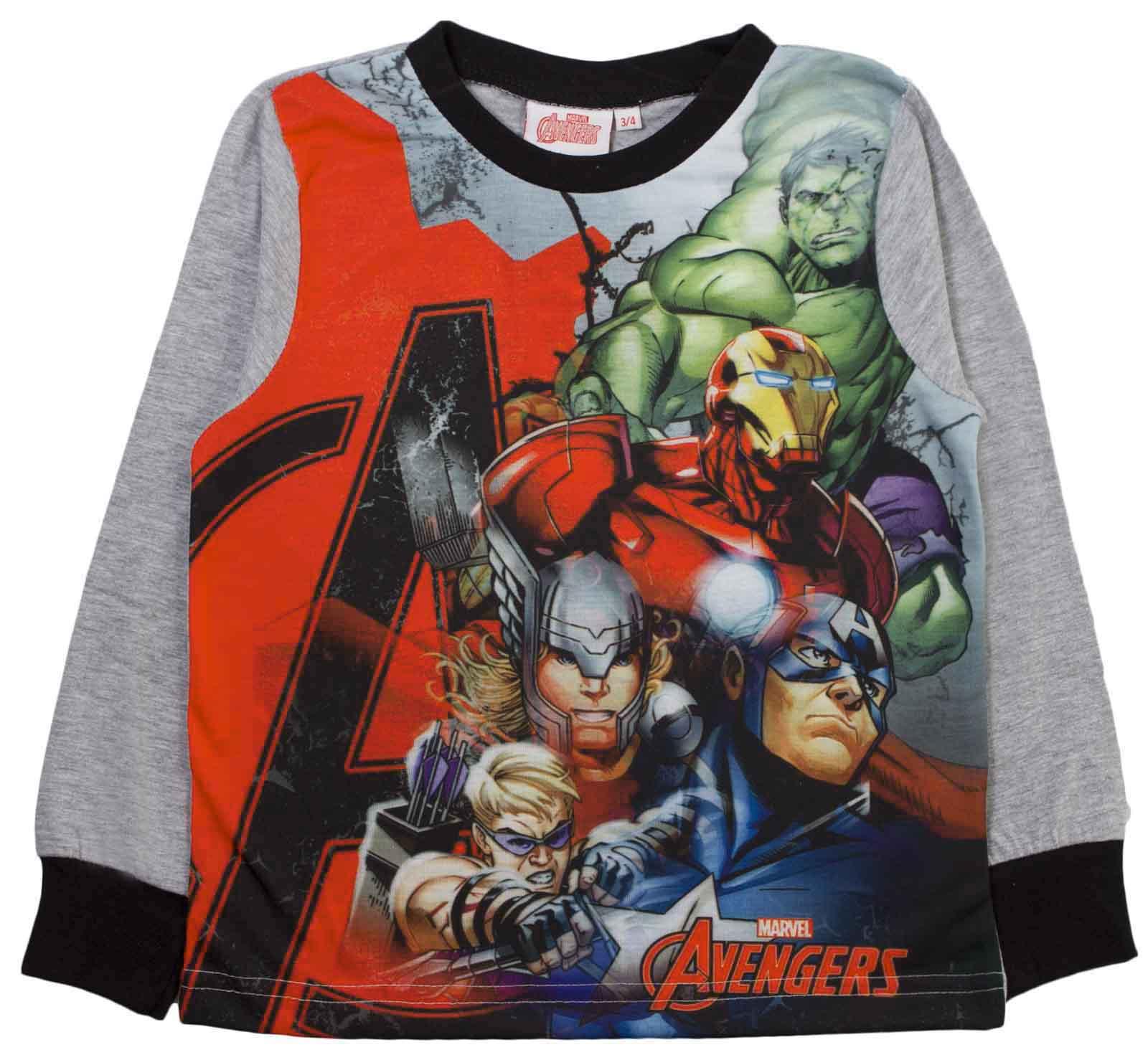 Boys Pyjamas Marvel Avengers Pyjama Set 2 Piece Superhero Pjs Full ... d4239e54087