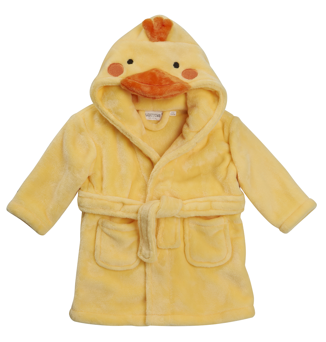 Baby Girls Boys Novelty 3d Hooded Animal Dressing Gown Bath Robe ...