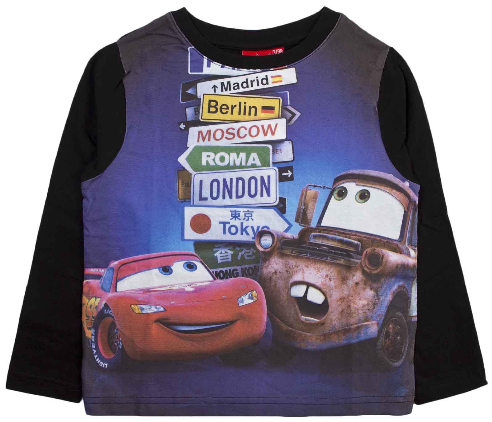 12010059d39eee Abbigliamento Camicie Cars Maglietta T ShirtPolo E Bambino Disney H9EWYDI2