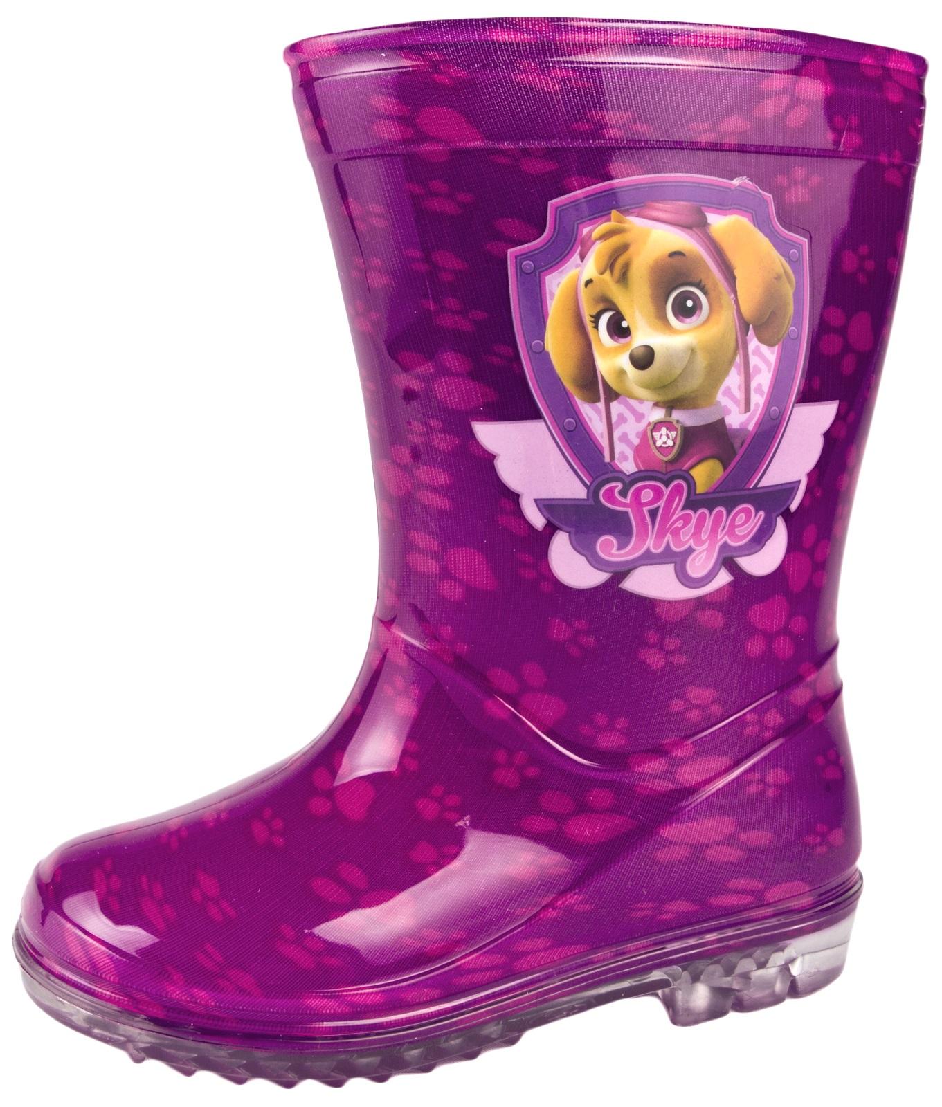 02a3b054ad Paw Patrol Girls Wellington Rain Boots Wellys Girls