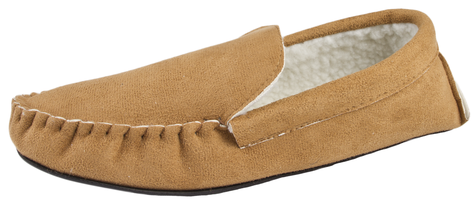 Mens-Moccasins-Faux-Suede-Slippers-Warm-Winter-Faux-