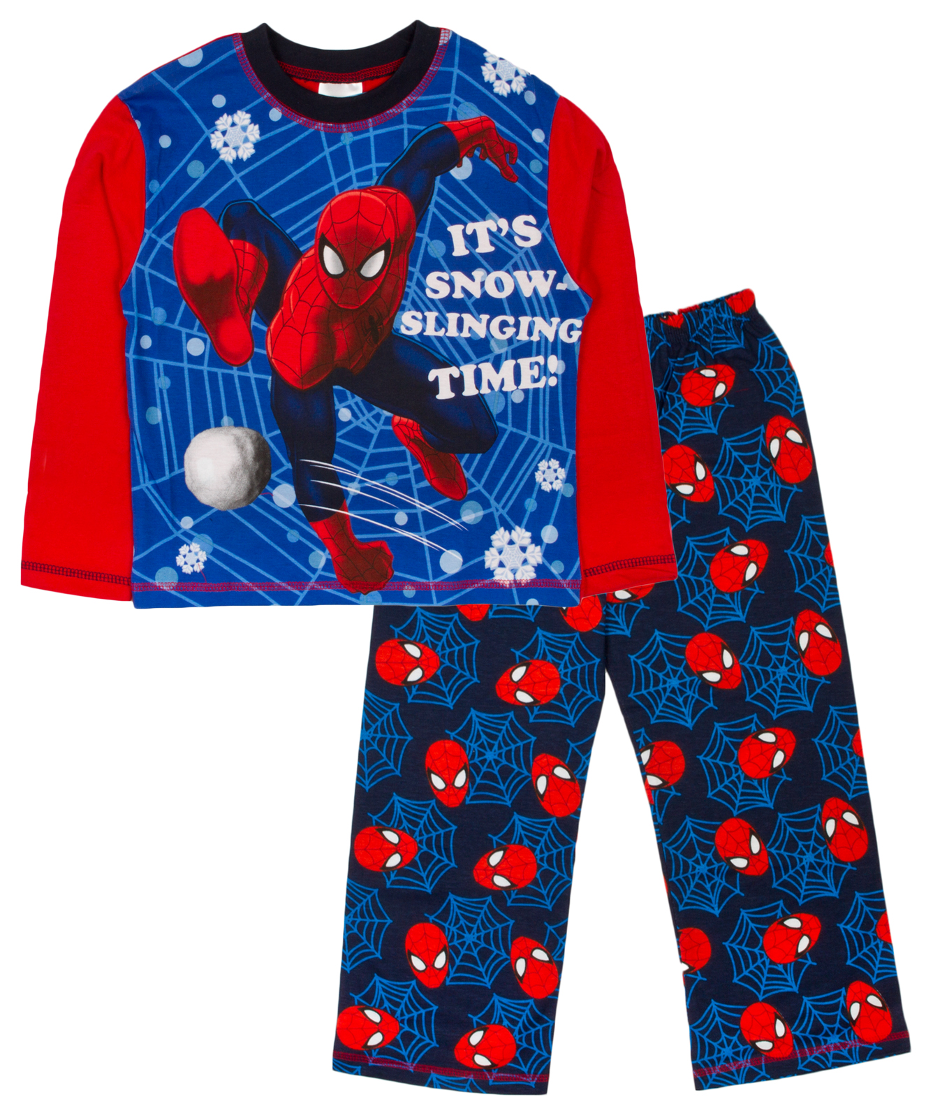 kids boys pyjamas marvel spiderman pyjama set 2 - Childrens Christmas Pyjamas