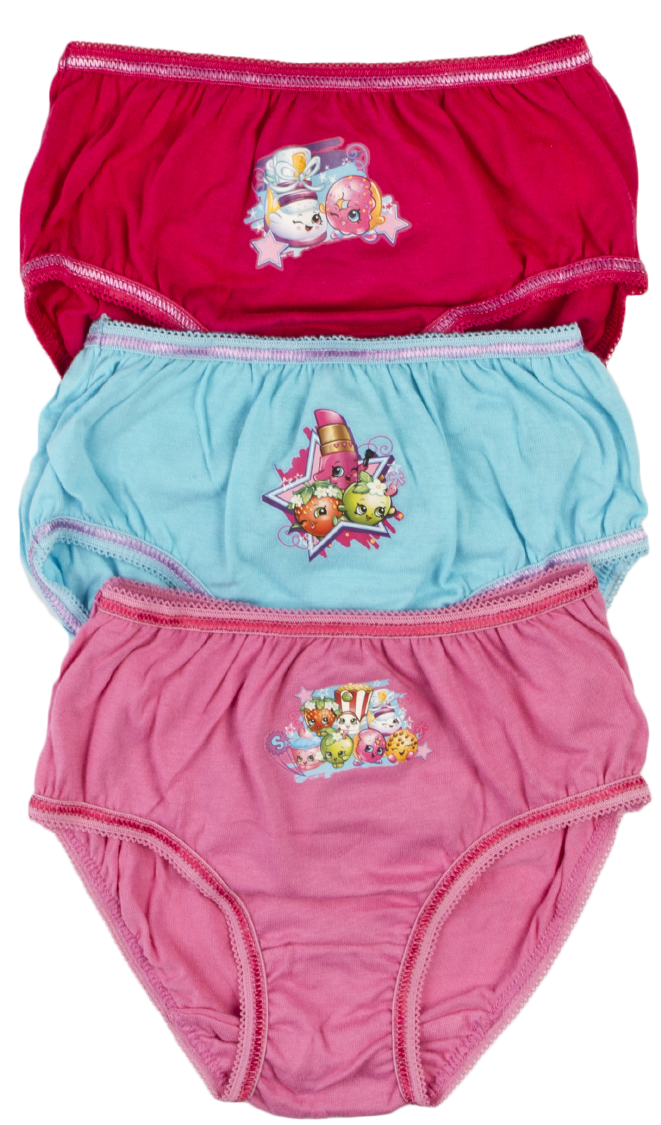 8er Pack Ragazza Slip Mutande Bambini