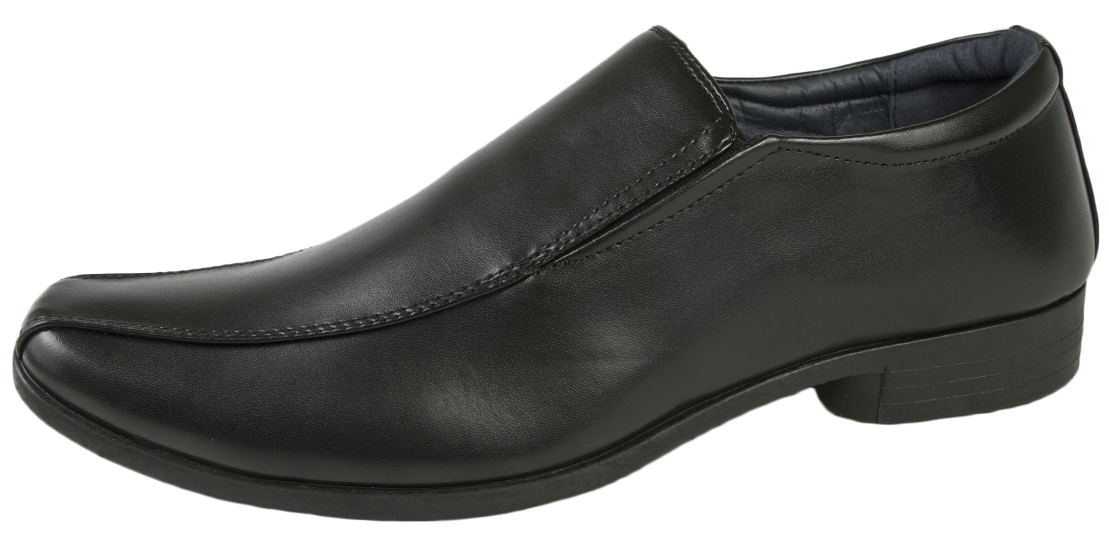 Mens Boys Faux Leather Formal Shoes Work Office