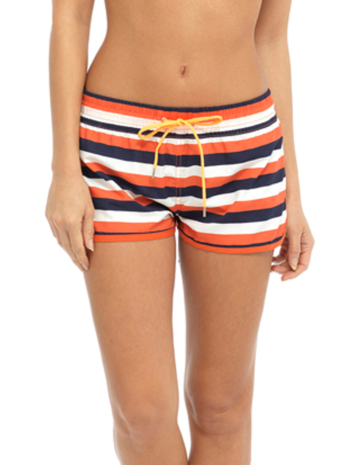 5ed995683d Womens High Waisted Beach Shorts Elasticated Summer Swim Shorts ...
