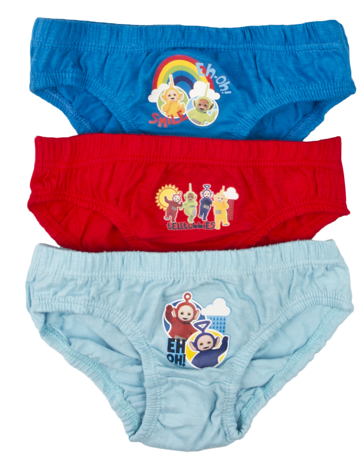 Boys 3 Pack Pants Knickers Briefs Character
