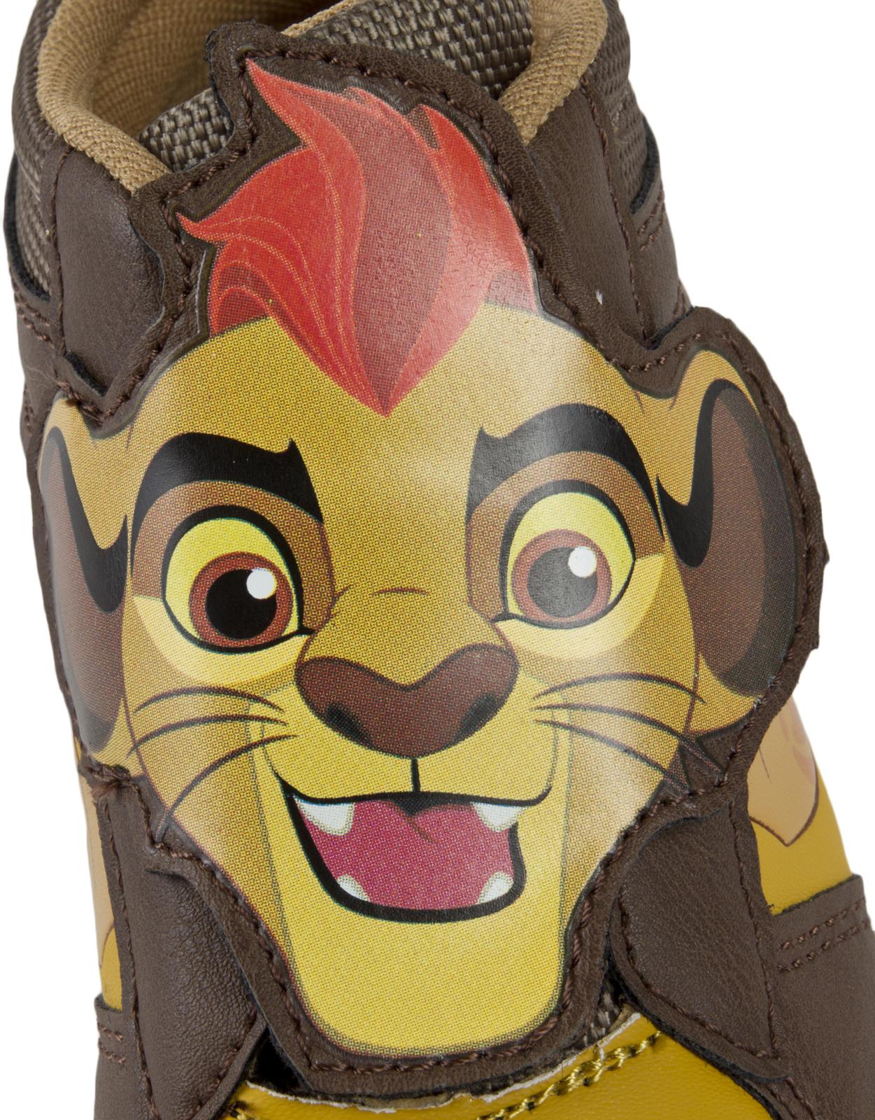 Détails sur Lion disney garde baskets caractère chaussures de sport garçons toile pompes hi tops taille afficher le titre d'origine
