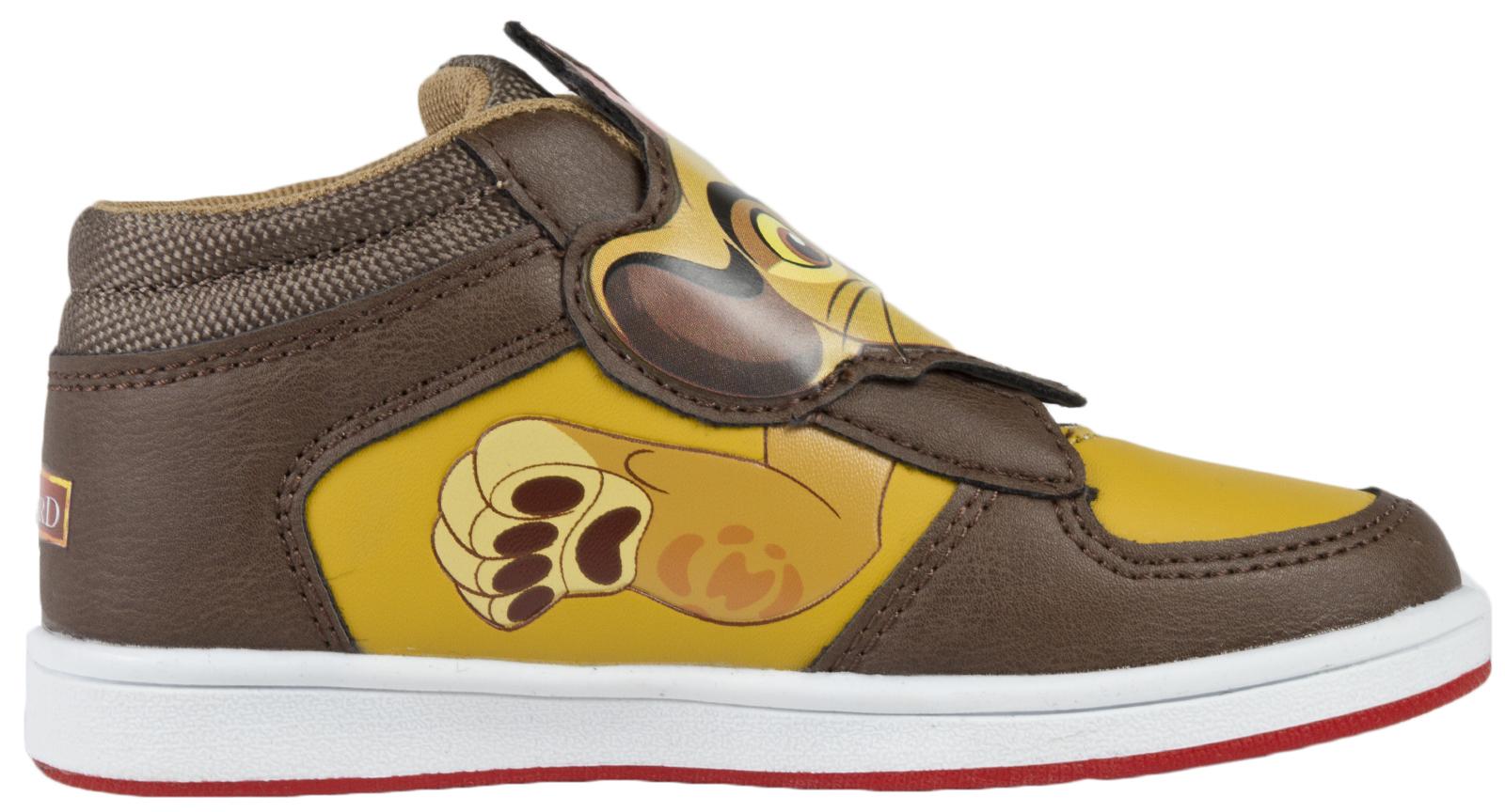 Disney-Lion-Guard-Trainers-Character-Sports-Shoes-Boys-Canvas-Pumps-Hi-Tops-Size
