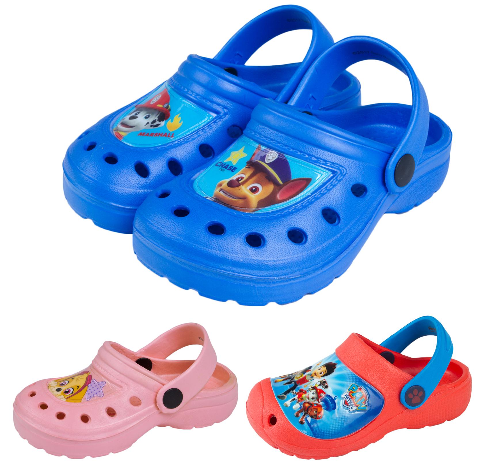 Paw Patrol Clogs Boys Girls Beach Sandals Flat Shoes Mules Kids