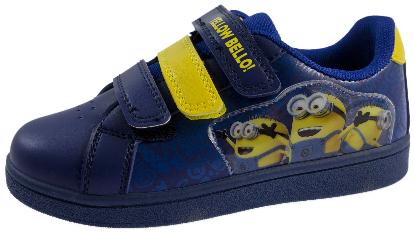Boys Running Skate Trainers Despicable Me Minions Sports Shoes Kids Infant Size