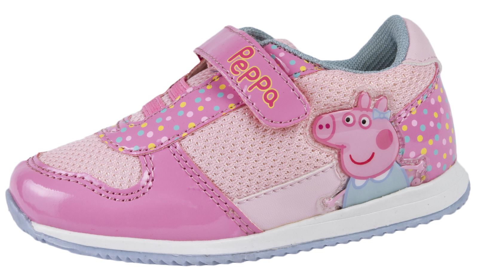 Dettagli su Ragazze PEPPA PIG Gamma di Scarpe Zoccoli Scarpe Da Ginnastica Gelatine Sandali Bambini Estate Tg UK mostra il titolo originale
