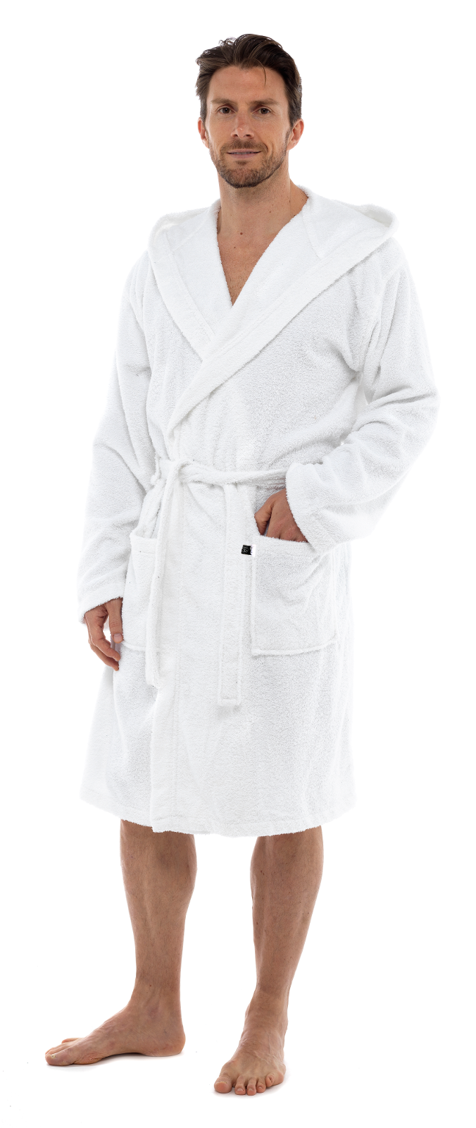 Mens Ladies 100% Cotton Towelling Bath Robe Dressing Gown Womens ...
