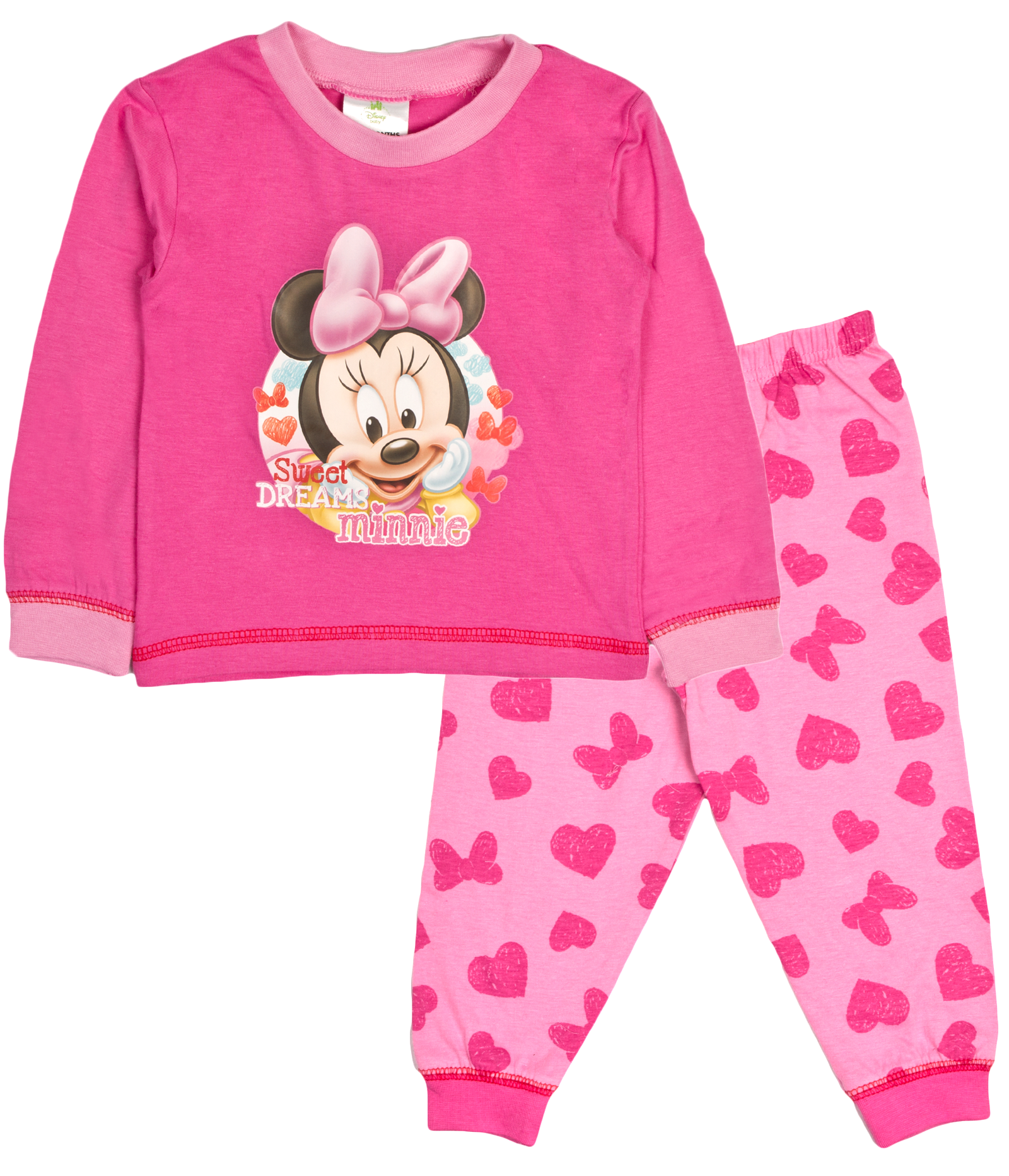 49a96857e88b Baby Boys Girls Pyjamas Toddlers Disney Mickey Minnie Mouse Pjs Size ...