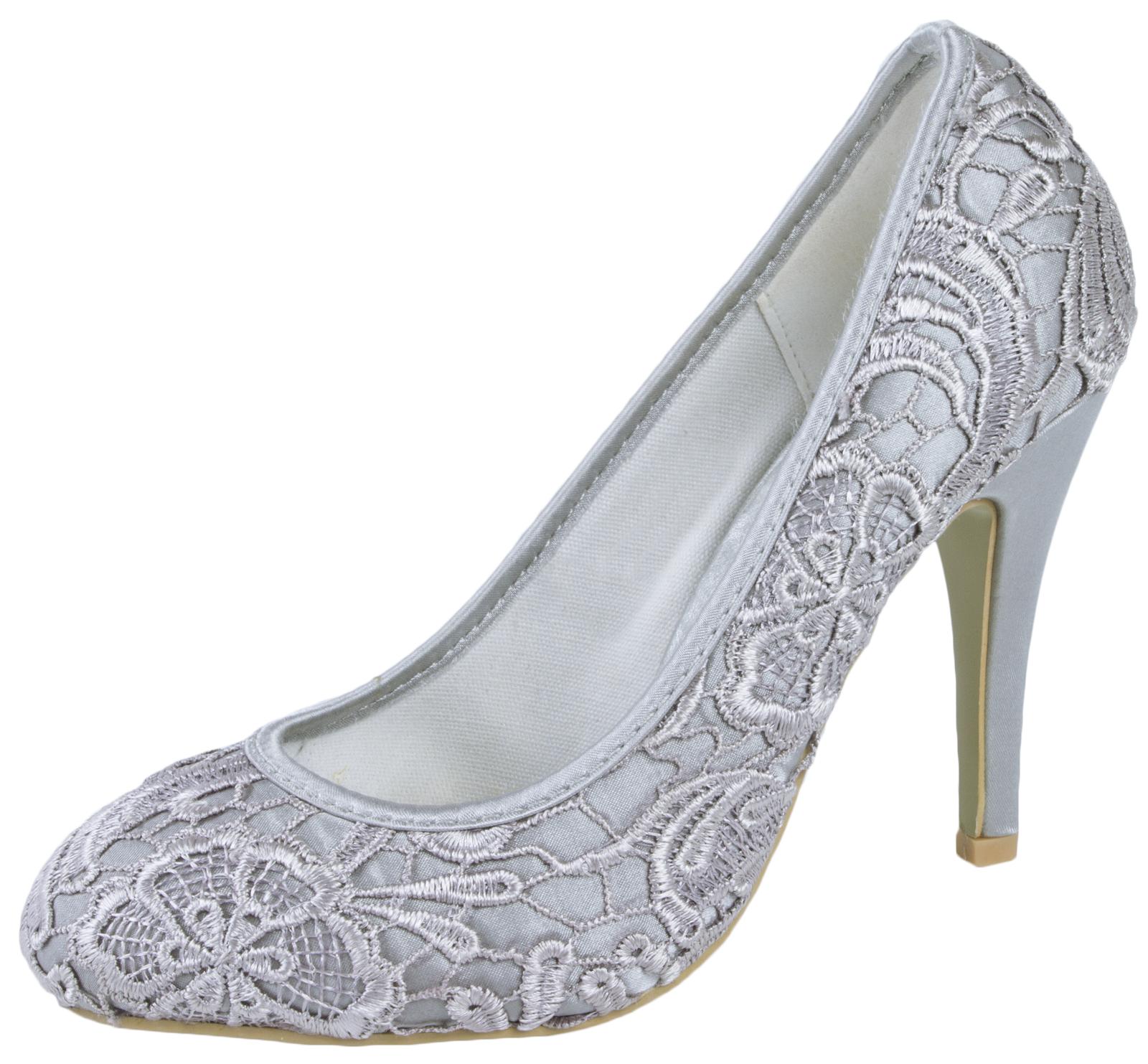Champagne Heels Wedding Shoes